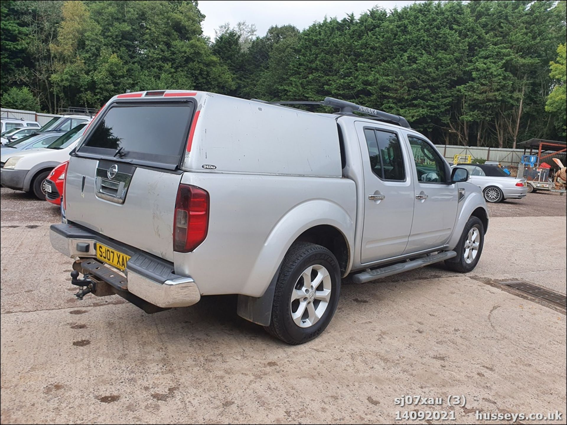 07/07 NISSAN NAVARA D/C OUTLAW DCI - 2488cc 4dr 4x4 (Silver, 166k) - Image 3 of 15