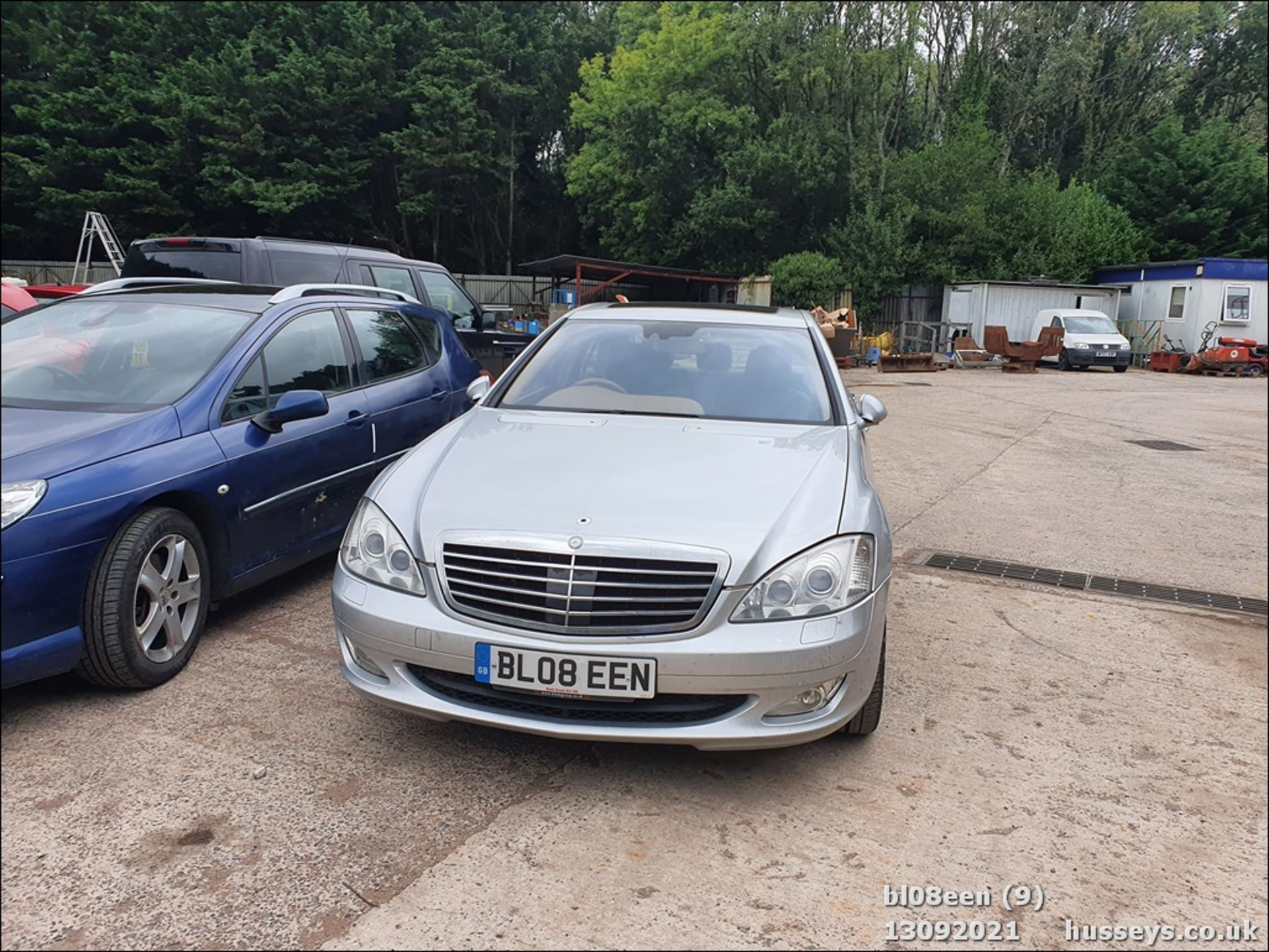 08/08 MERCEDES S320 CDI AUTO - 2987cc 4dr Saloon (Silver, 205k) - Image 9 of 16