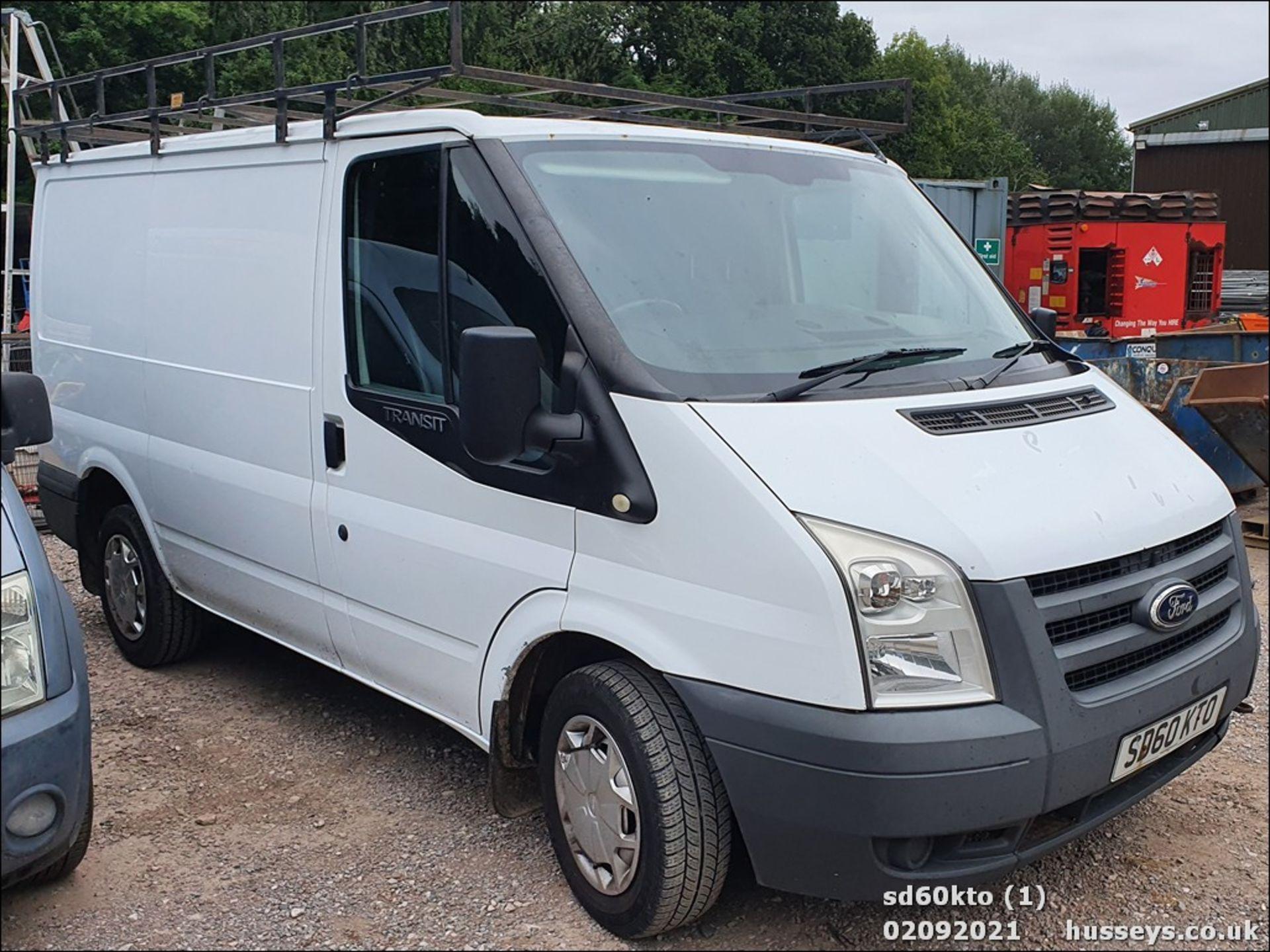 10/60 FORD TRANSIT 85 T260M FWD - 2198cc 5dr Van (White, 237k) - Image 4 of 23
