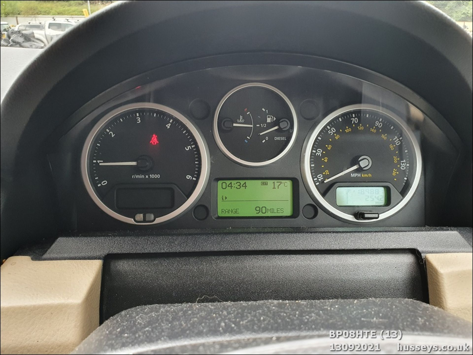 08/08 LAND ROVER DISCOVERY TDV6 SE A - 2720cc 5dr Estate (Brown, 190k) - Image 13 of 18