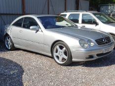 02/02 MERCEDES CL500 AUTO - 4966cc 2dr Coupe (Silver, 64k)
