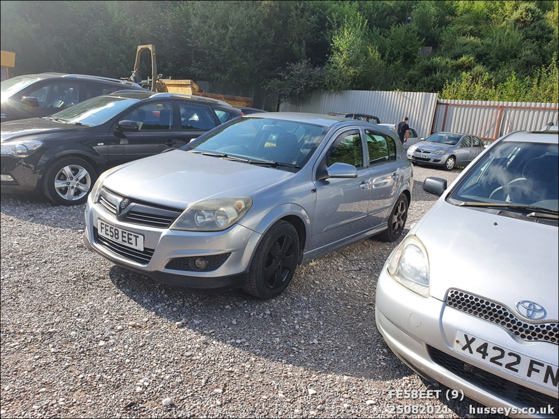 08/58 VAUXHALL ASTRA CLUB CDTI 100 - 1686cc 5dr Hatchback (Silver, 115k) - Image 9 of 15