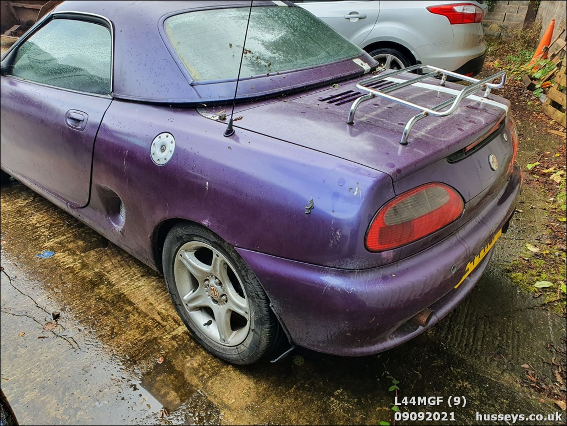 1996 MG MGF 1.8I VVC - 1796cc 2dr Convertible (Mauve/purple) - Image 8 of 12