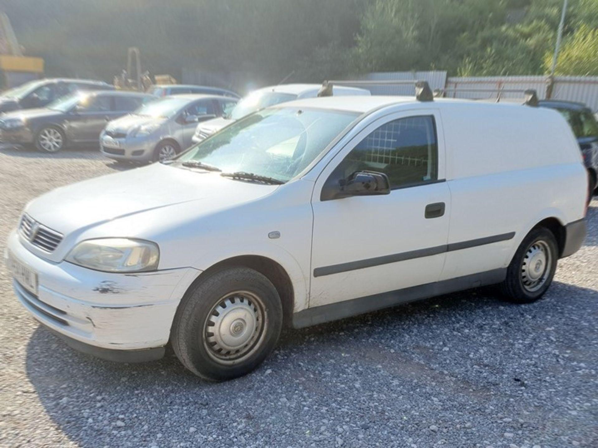 05/54 VAUXHALL ASTRAVAN ENVOY CDTI - 1686cc Van (White)