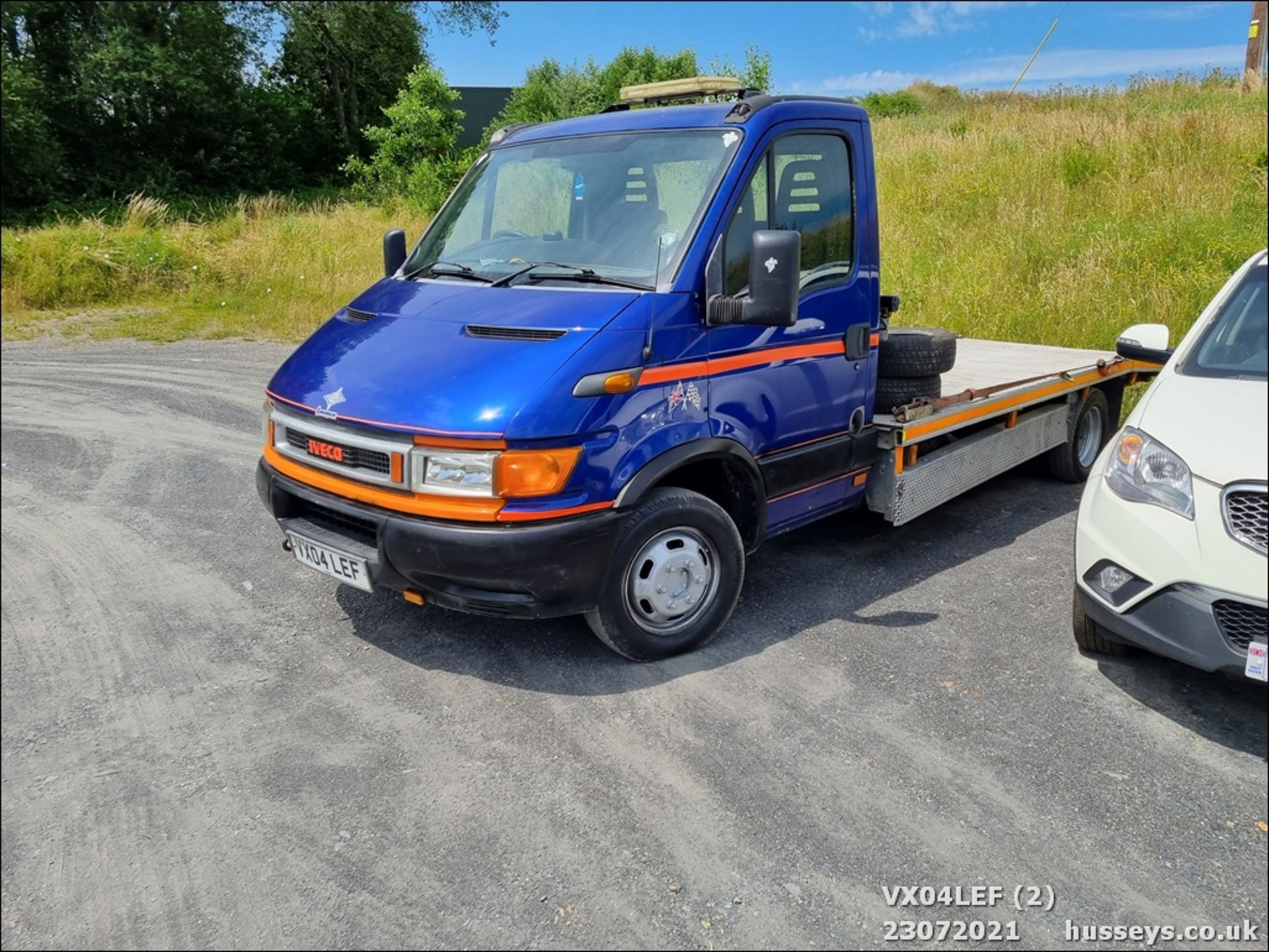 04/04 IVECO DAILY 50C15 4.4WB - 2800cc (Blue) - Image 2 of 9