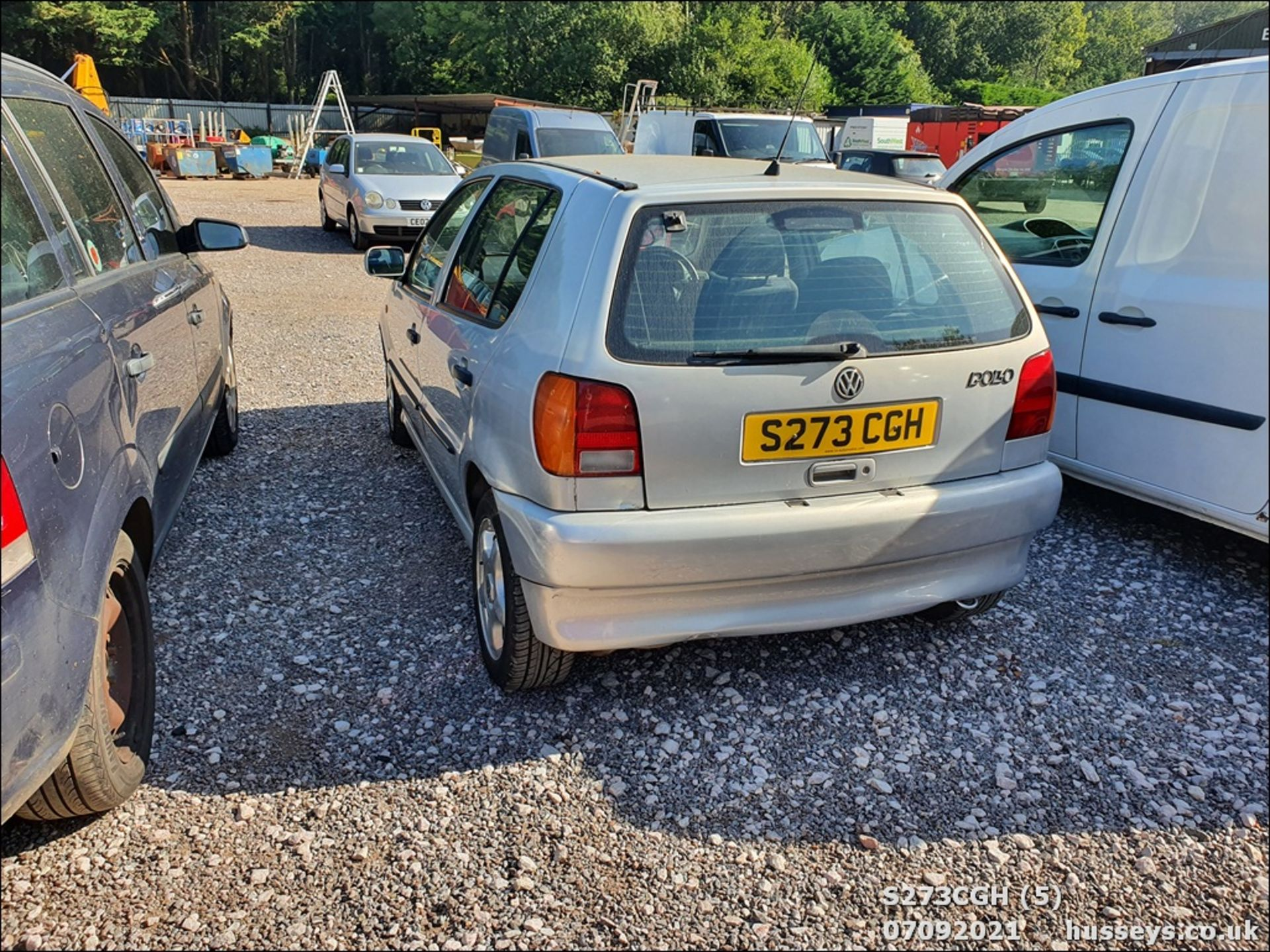 1998 VOLKSWAGEN POLO 1.6 GL AUTO - 1598cc 5dr Hatchback (Silver, 113k) - Image 5 of 13