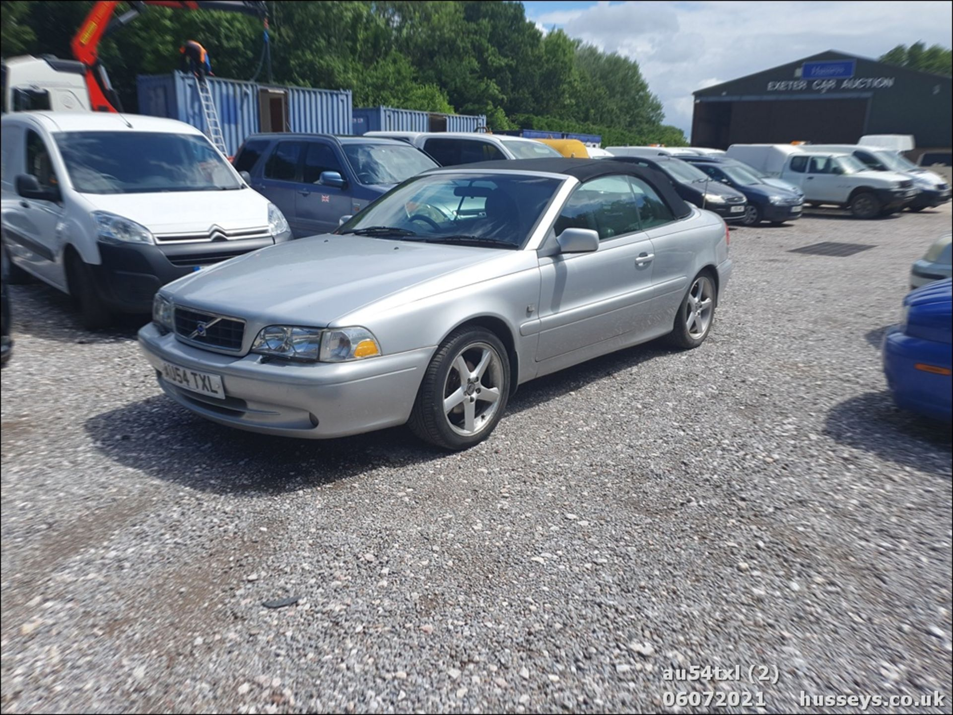 04/54 VOLVO C70 T - 1984cc 2dr Convertible (Silver, 136k) - Image 2 of 15