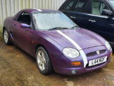 1996 MG MGF 1.8I VVC - 1796cc 2dr Convertible (Mauve/purple)