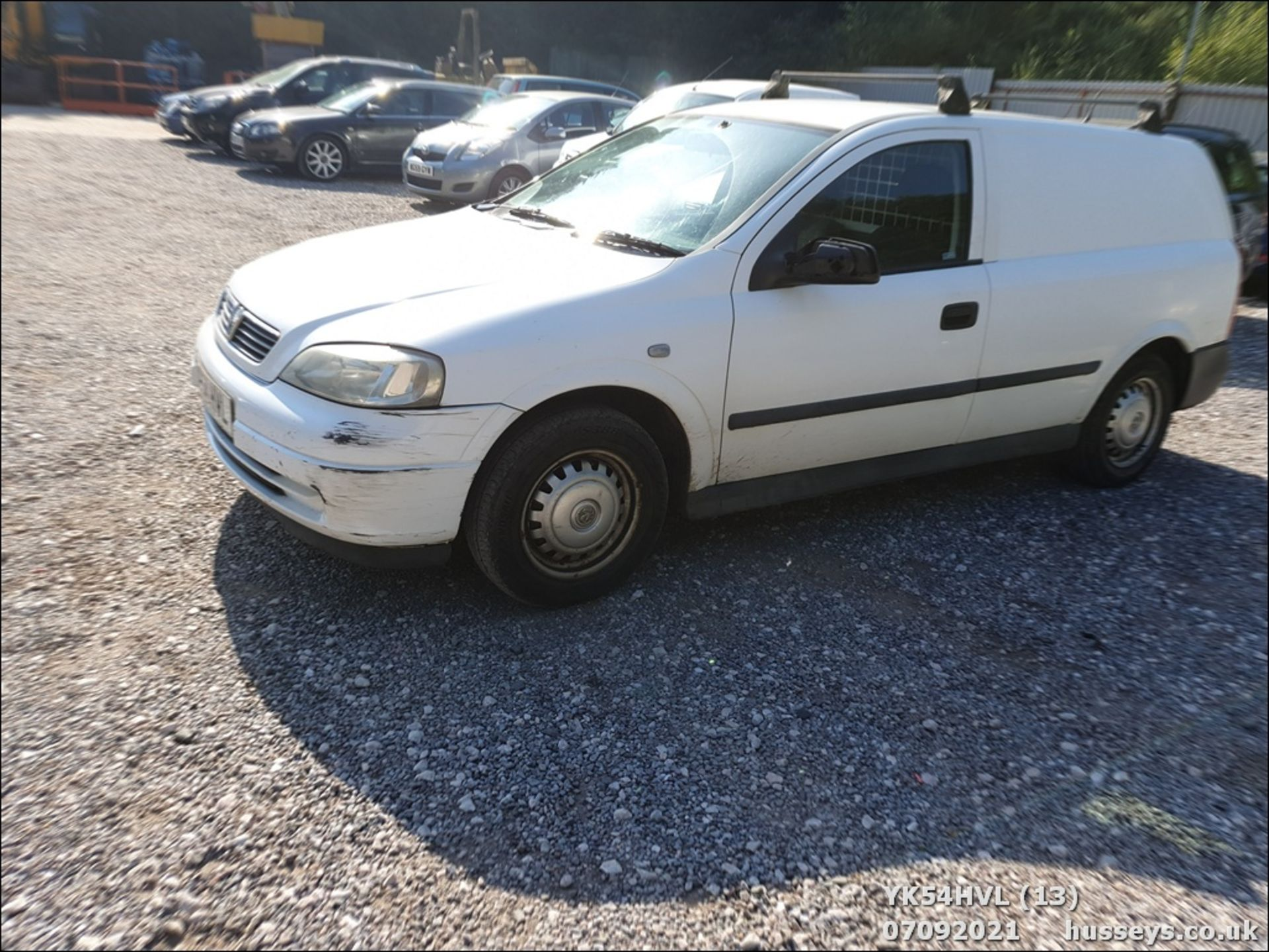 05/54 VAUXHALL ASTRAVAN ENVOY CDTI - 1686cc Van (White) - Image 14 of 15