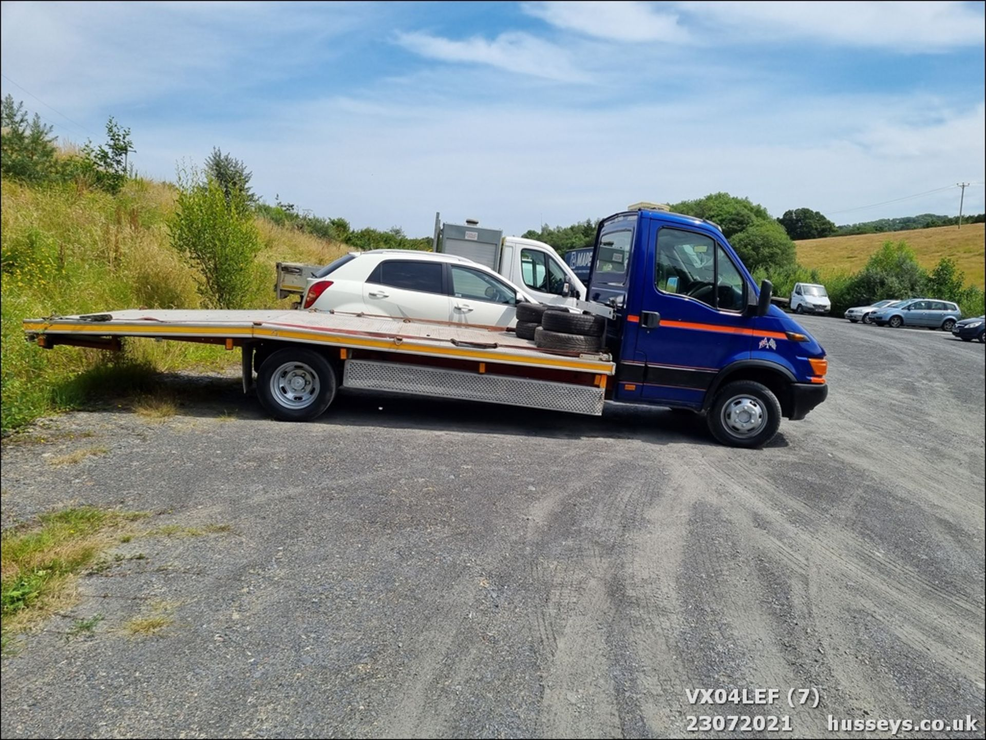 04/04 IVECO DAILY 50C15 4.4WB - 2800cc (Blue) - Image 7 of 9