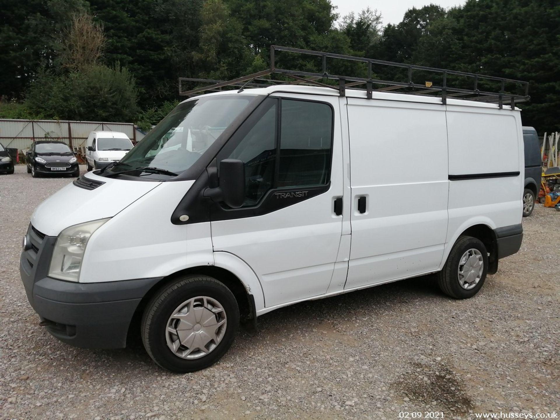 10/60 FORD TRANSIT 85 T260M FWD - 2198cc 5dr Van (White, 237k)