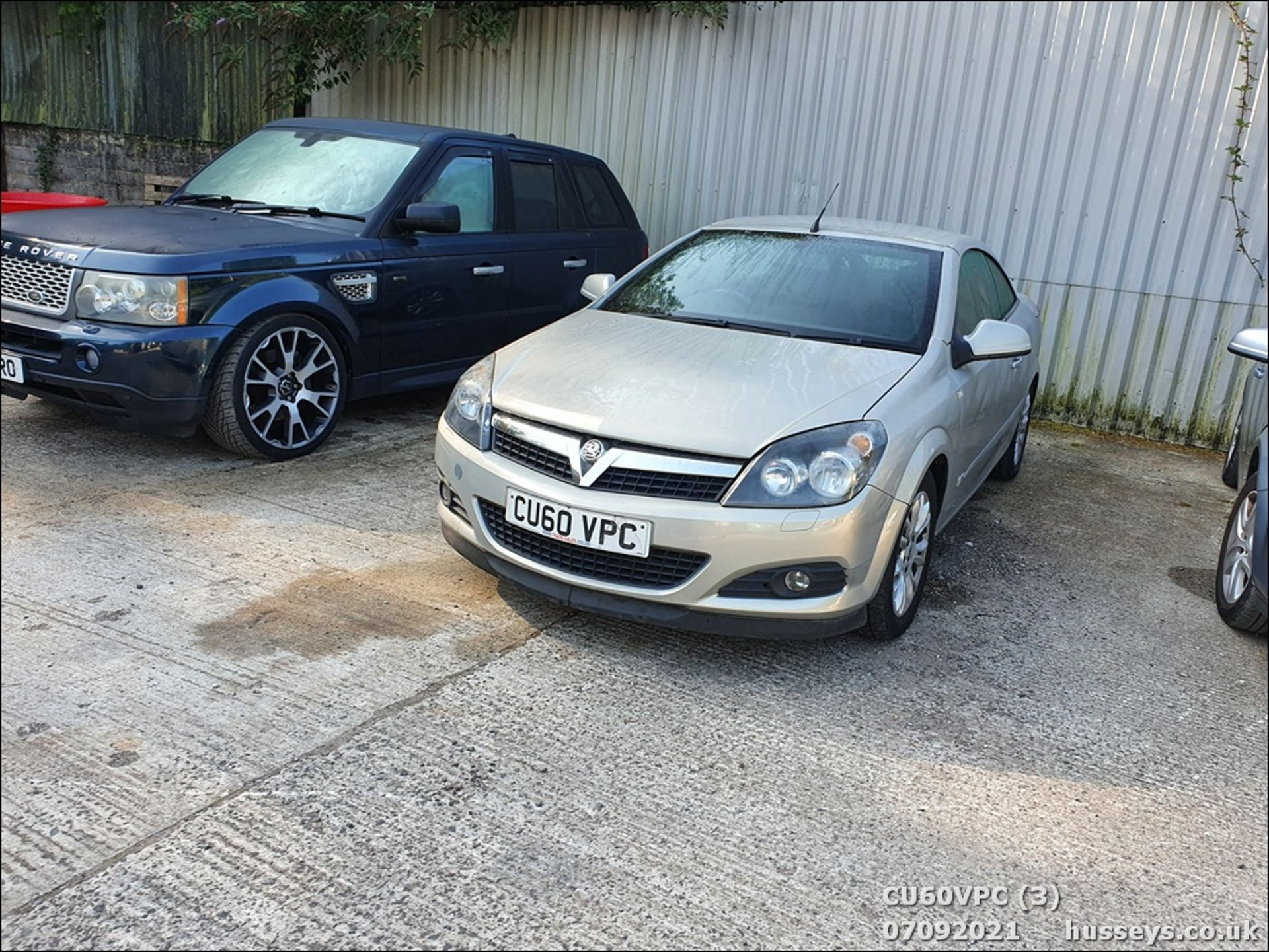 11/60 VAUXHALL ASTRA SPORT - 1796cc 2dr Convertible (Silver, 123k) - Image 3 of 12