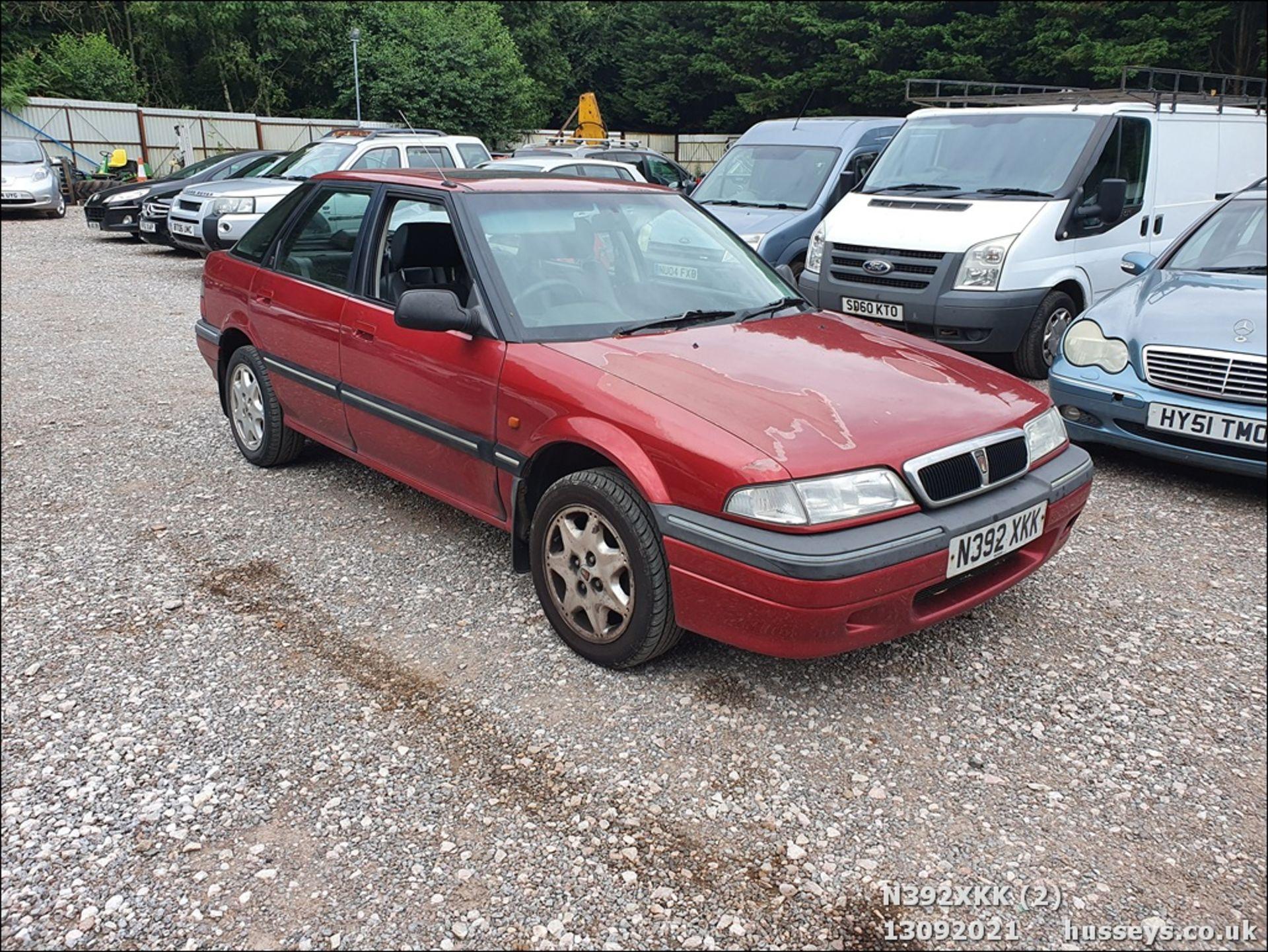 1995 ROVER 214 SEI - 1396cc 5dr Hatchback (Red, 99k) - Image 2 of 15