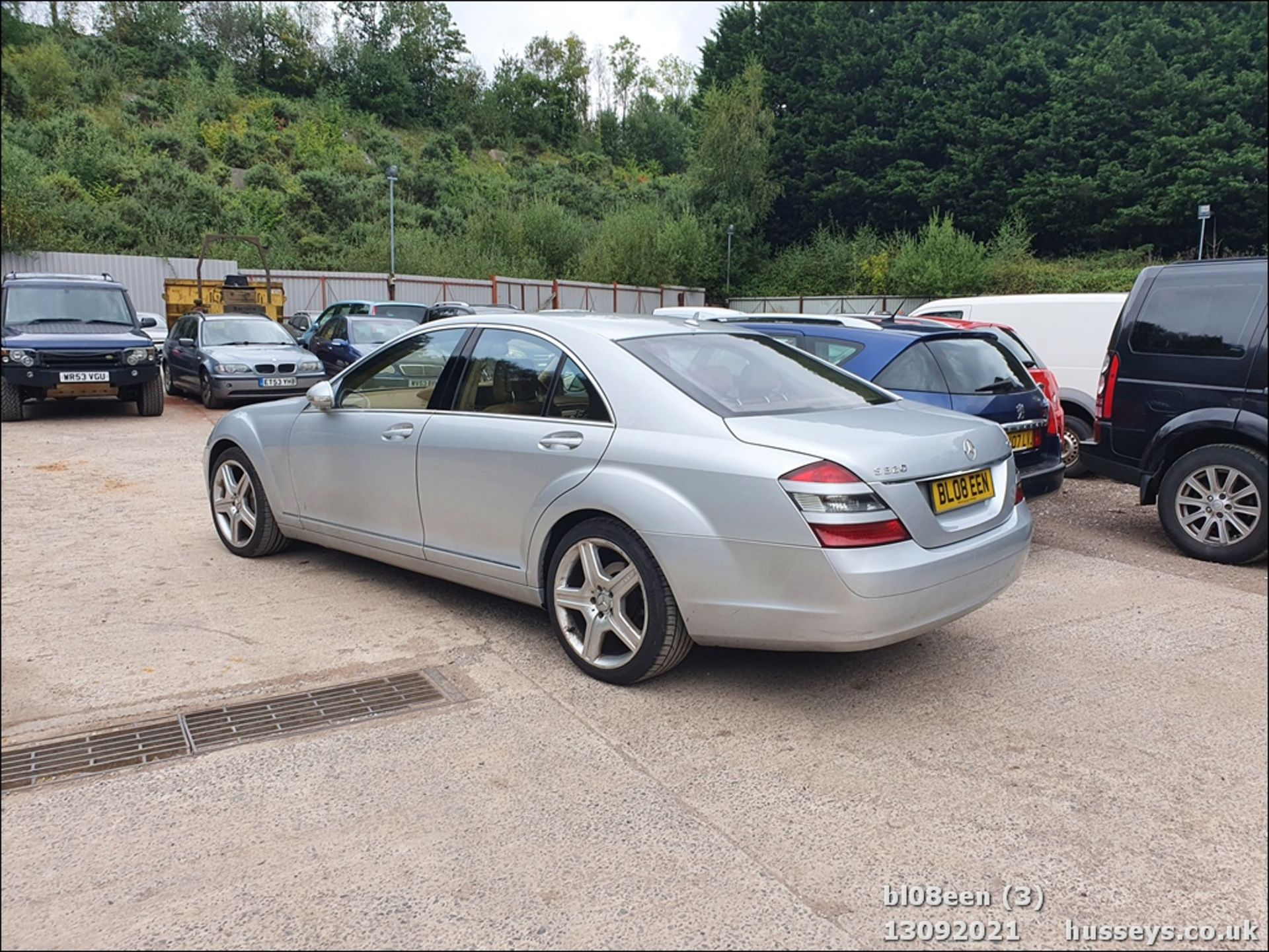 08/08 MERCEDES S320 CDI AUTO - 2987cc 4dr Saloon (Silver, 205k) - Image 3 of 16