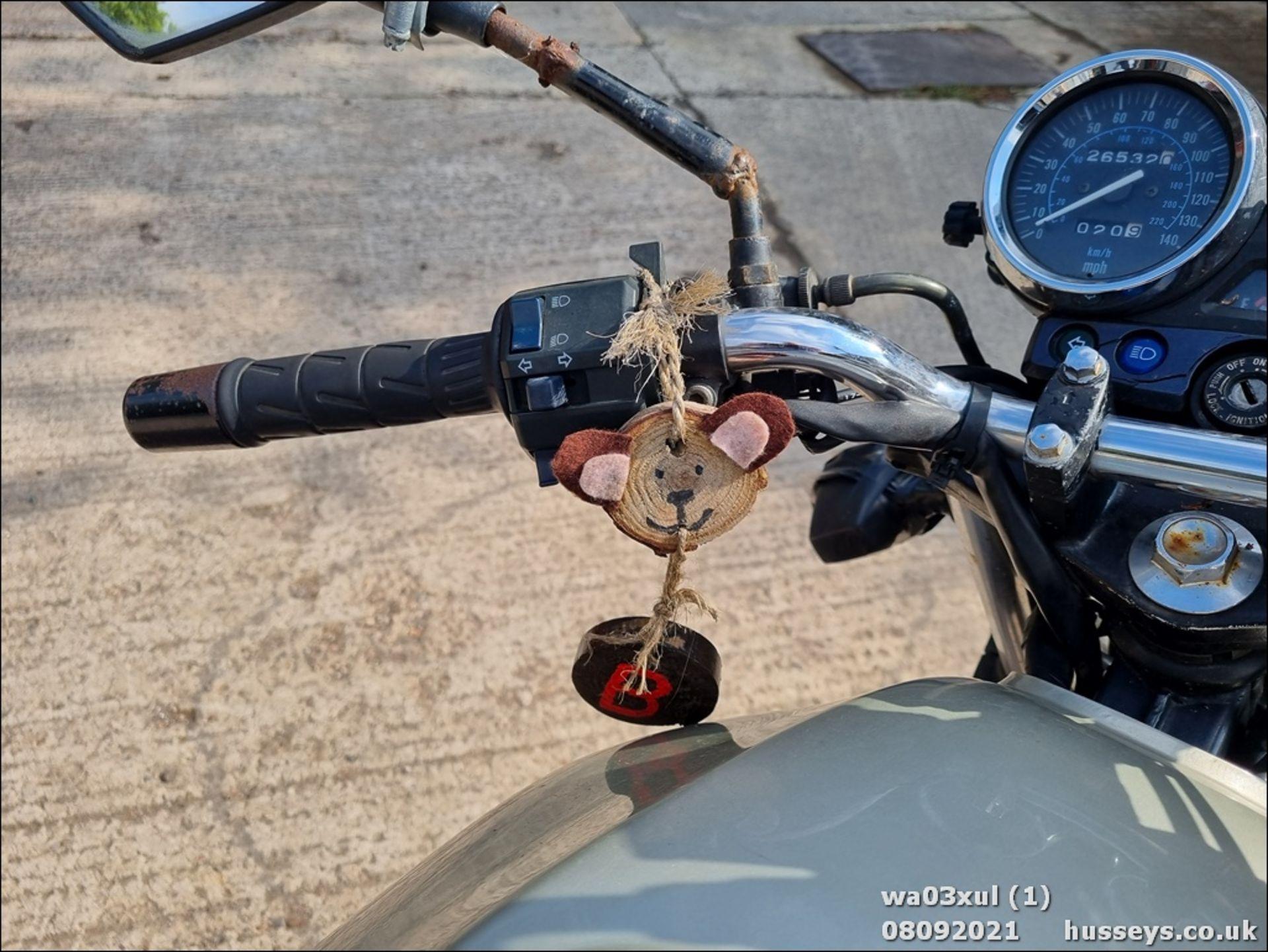 03/03 KAWASAKI ER500-C1 - 498cc Motorcycle (Gold) - Image 11 of 16