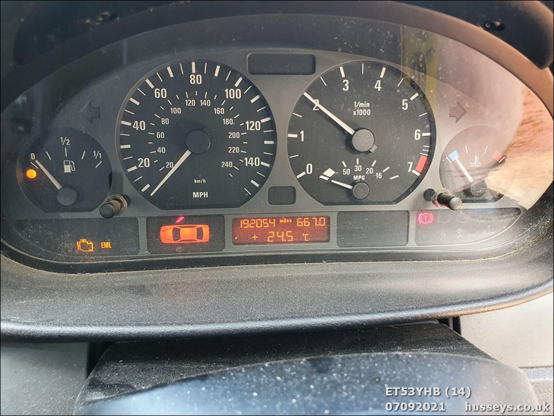 04/53 BMW 318I SE TOURING - 1995cc 5dr Estate (Grey) - Image 14 of 16