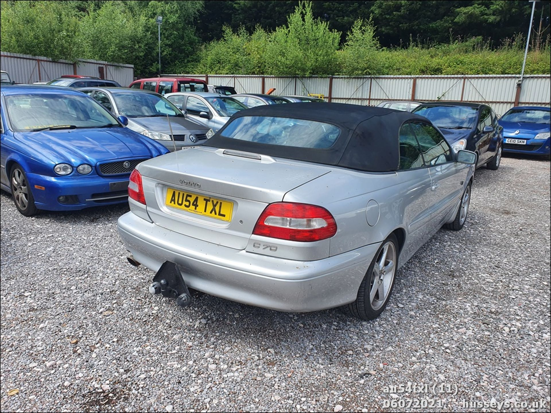 04/54 VOLVO C70 T - 1984cc 2dr Convertible (Silver, 136k) - Image 11 of 15