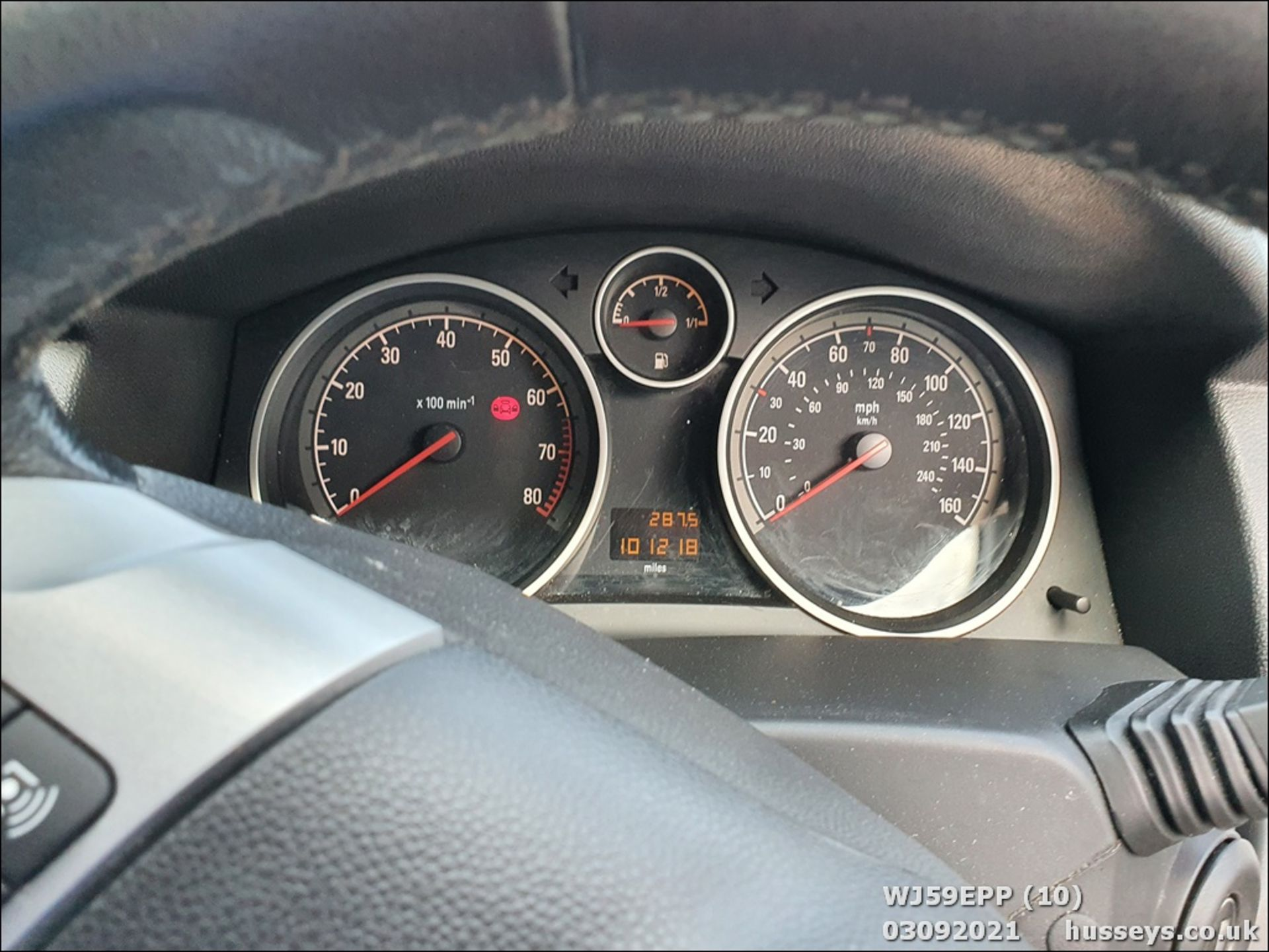 09/59 VAUXHALL ASTRA ACTIVE - 1364cc 5dr Hatchback (Silver, 101k) - Image 10 of 12