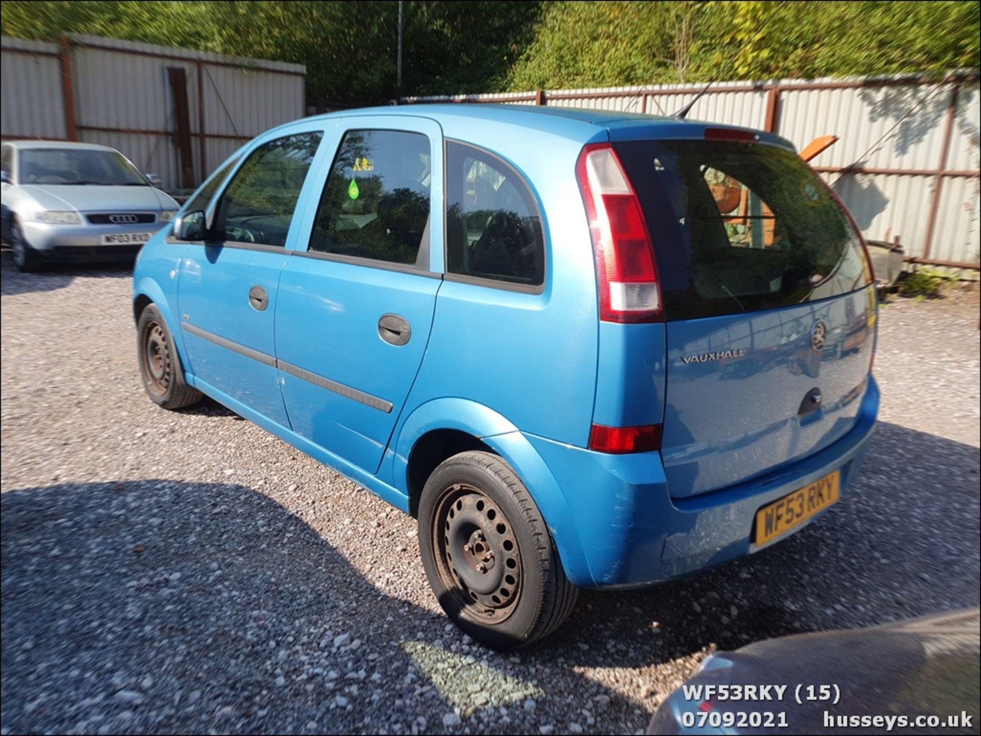 03/53 VAUXHALL MERIVA LIFE 8V - 1598cc 5dr MPV (Blue) - Image 15 of 15