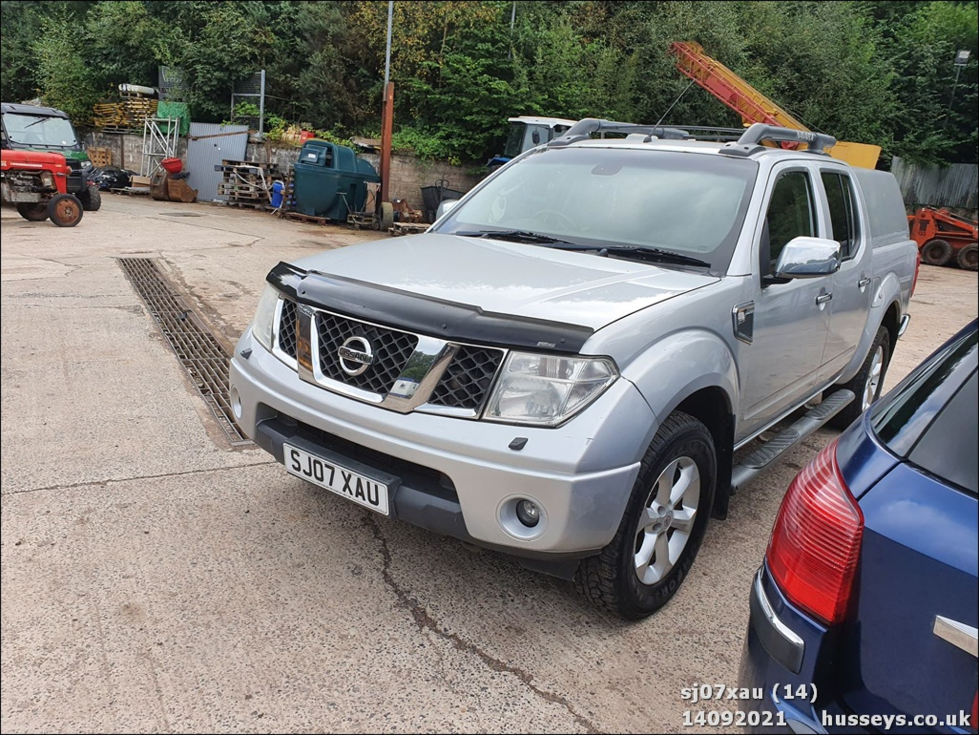 07/07 NISSAN NAVARA D/C OUTLAW DCI - 2488cc 4dr 4x4 (Silver, 166k) - Image 15 of 15