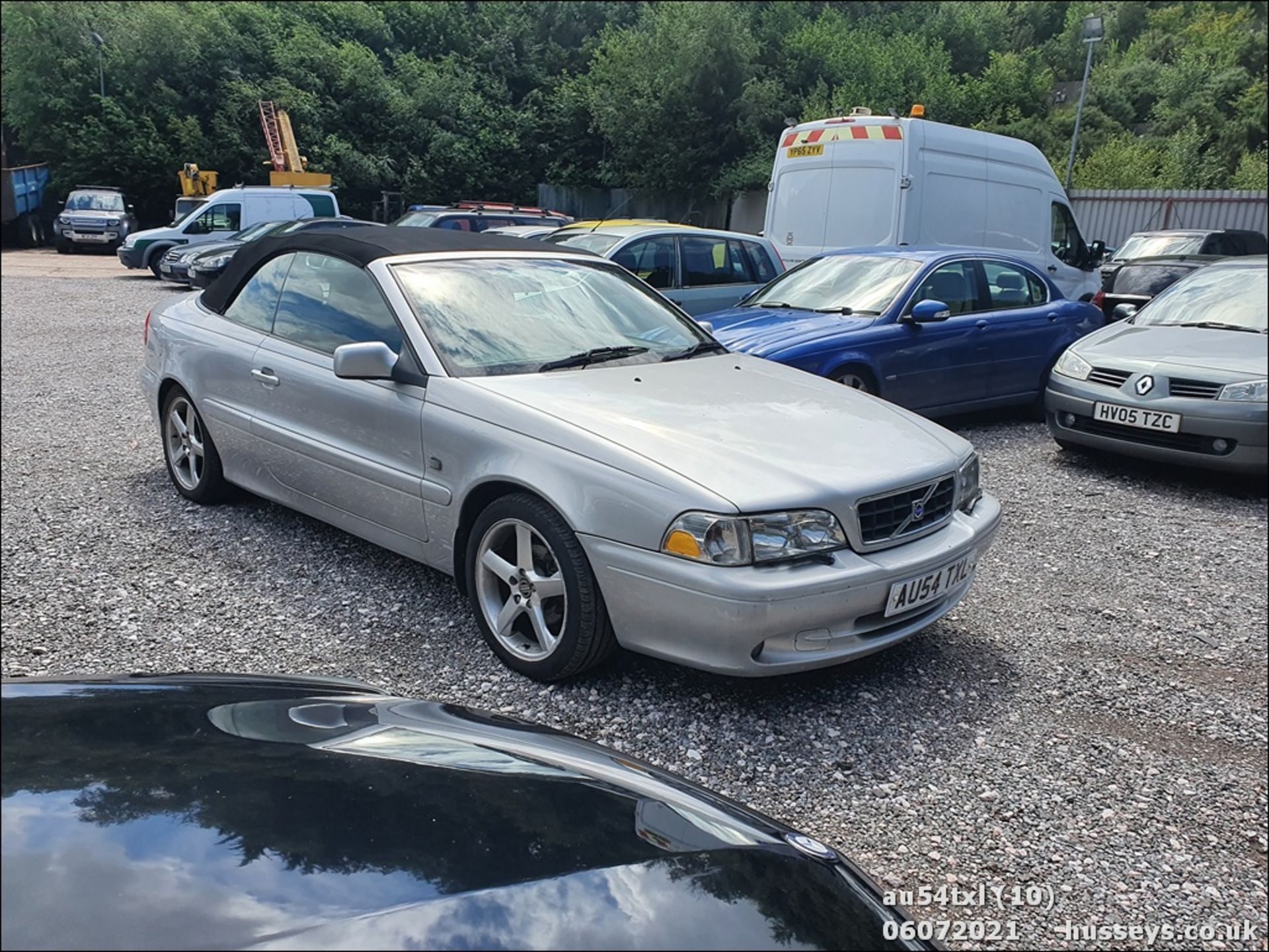 04/54 VOLVO C70 T - 1984cc 2dr Convertible (Silver, 136k) - Image 10 of 15