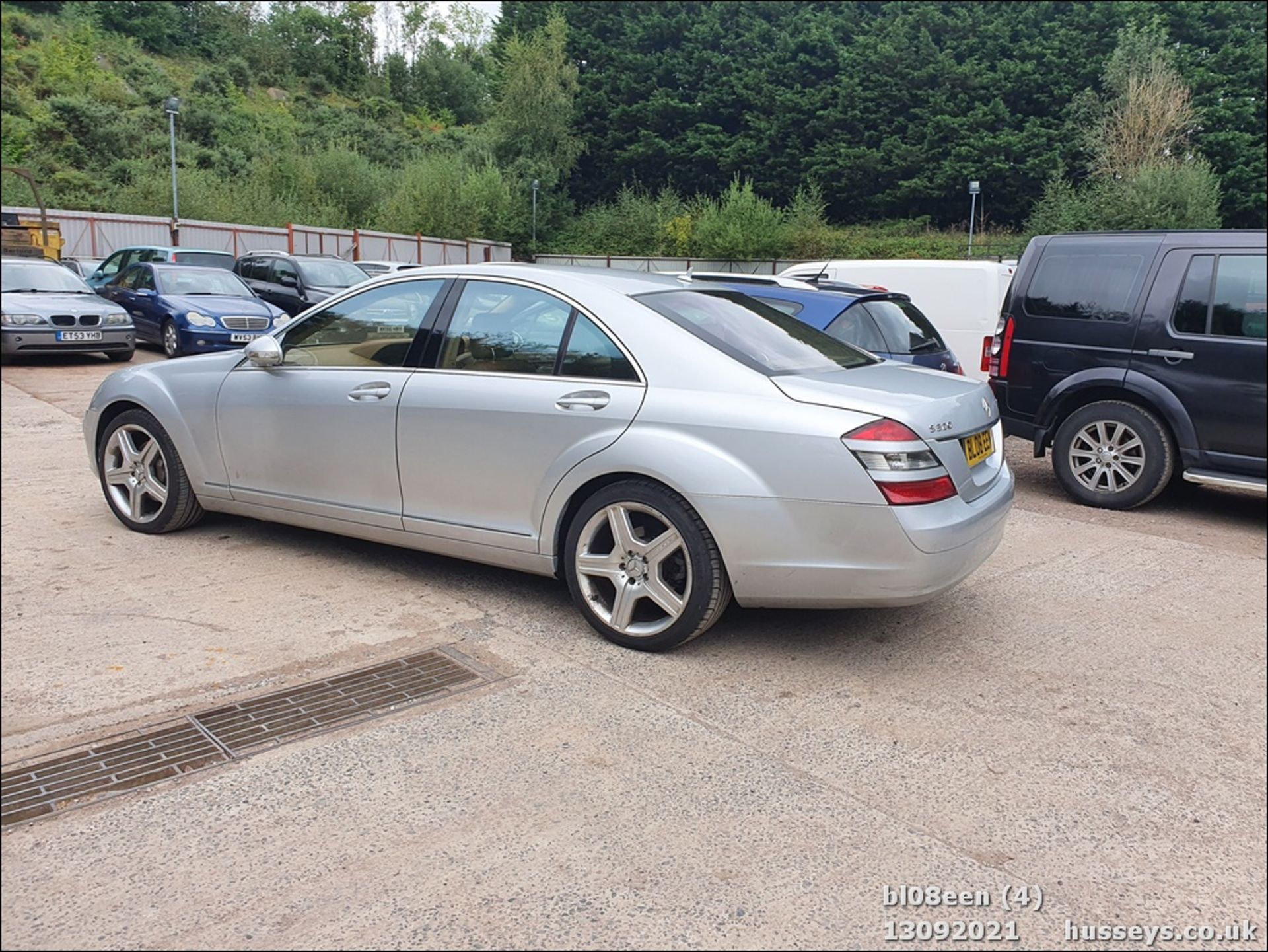 08/08 MERCEDES S320 CDI AUTO - 2987cc 4dr Saloon (Silver, 205k) - Image 4 of 16