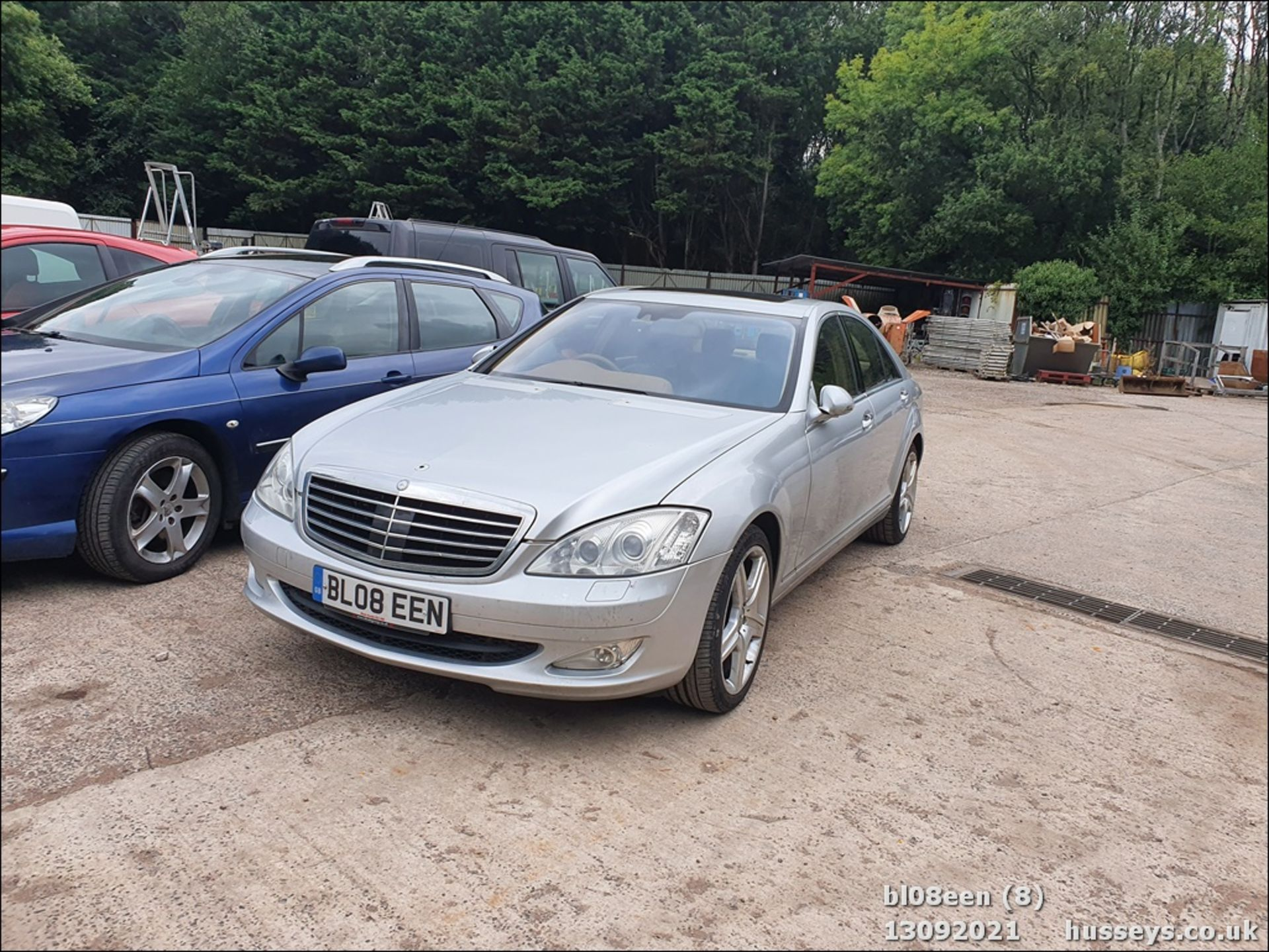 08/08 MERCEDES S320 CDI AUTO - 2987cc 4dr Saloon (Silver, 205k) - Image 8 of 16