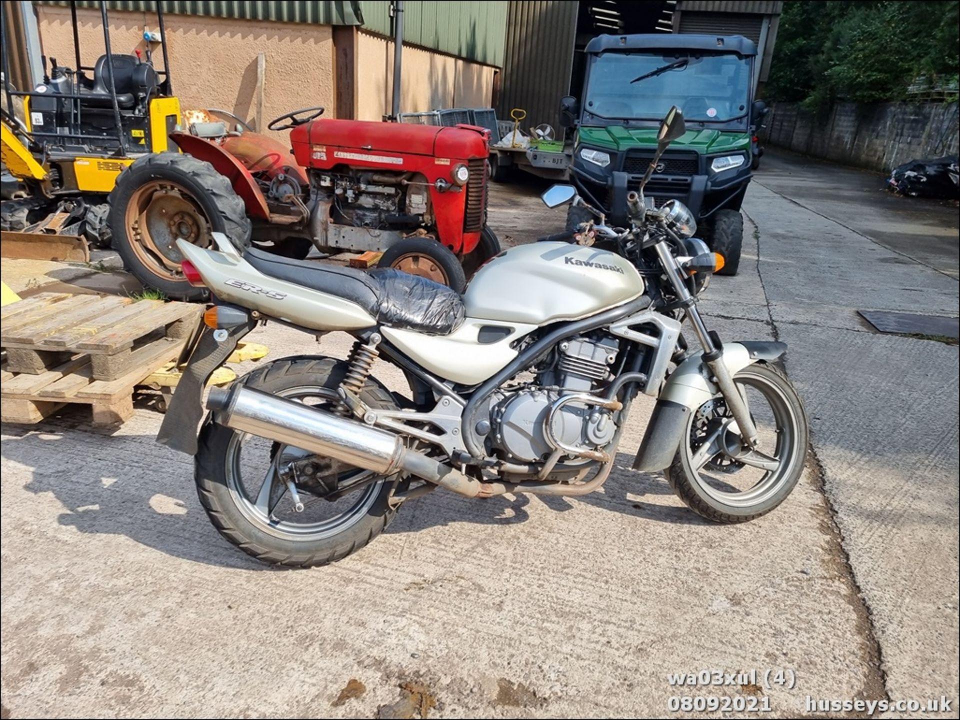 03/03 KAWASAKI ER500-C1 - 498cc Motorcycle (Gold) - Image 4 of 16