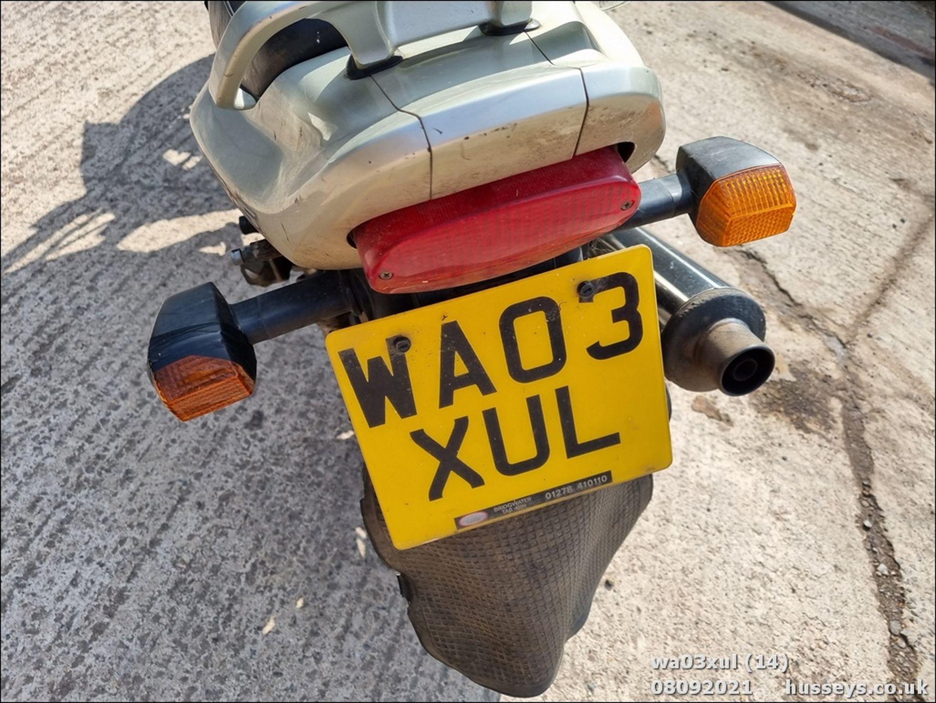 03/03 KAWASAKI ER500-C1 - 498cc Motorcycle (Gold) - Image 14 of 16