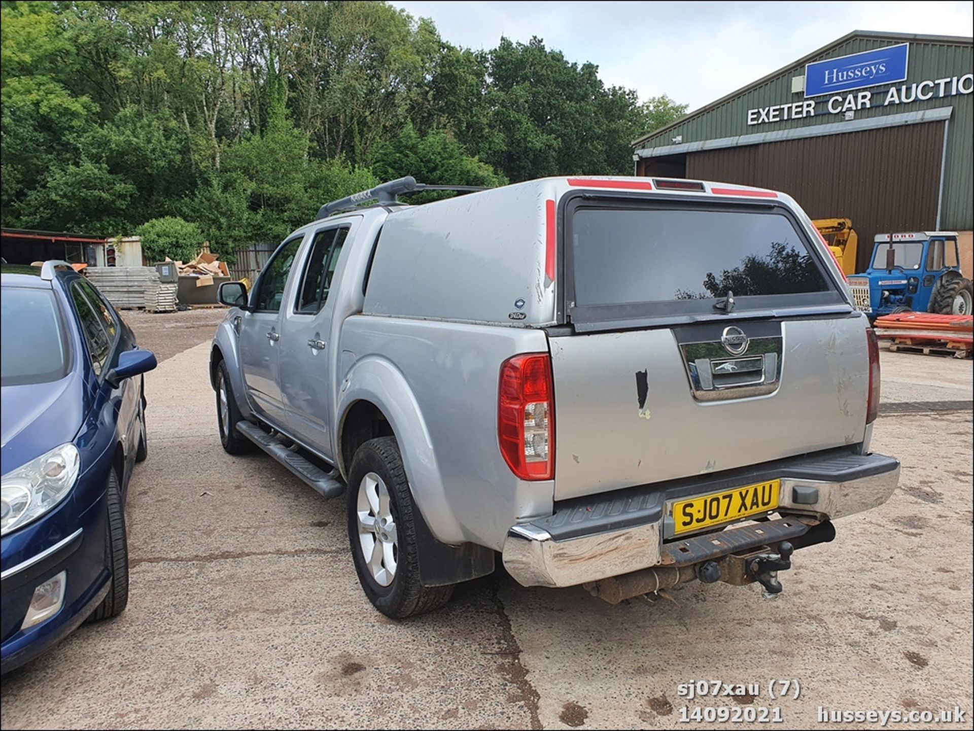 07/07 NISSAN NAVARA D/C OUTLAW DCI - 2488cc 4dr 4x4 (Silver, 166k) - Image 7 of 15