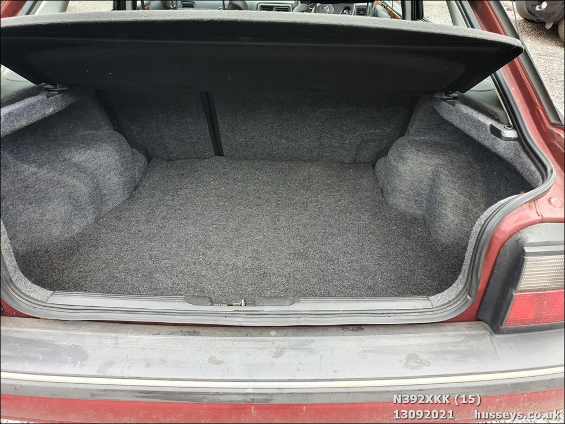 1995 ROVER 214 SEI - 1396cc 5dr Hatchback (Red, 99k) - Image 15 of 15
