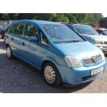 03/53 VAUXHALL MERIVA LIFE 8V - 1598cc 5dr MPV (Blue)