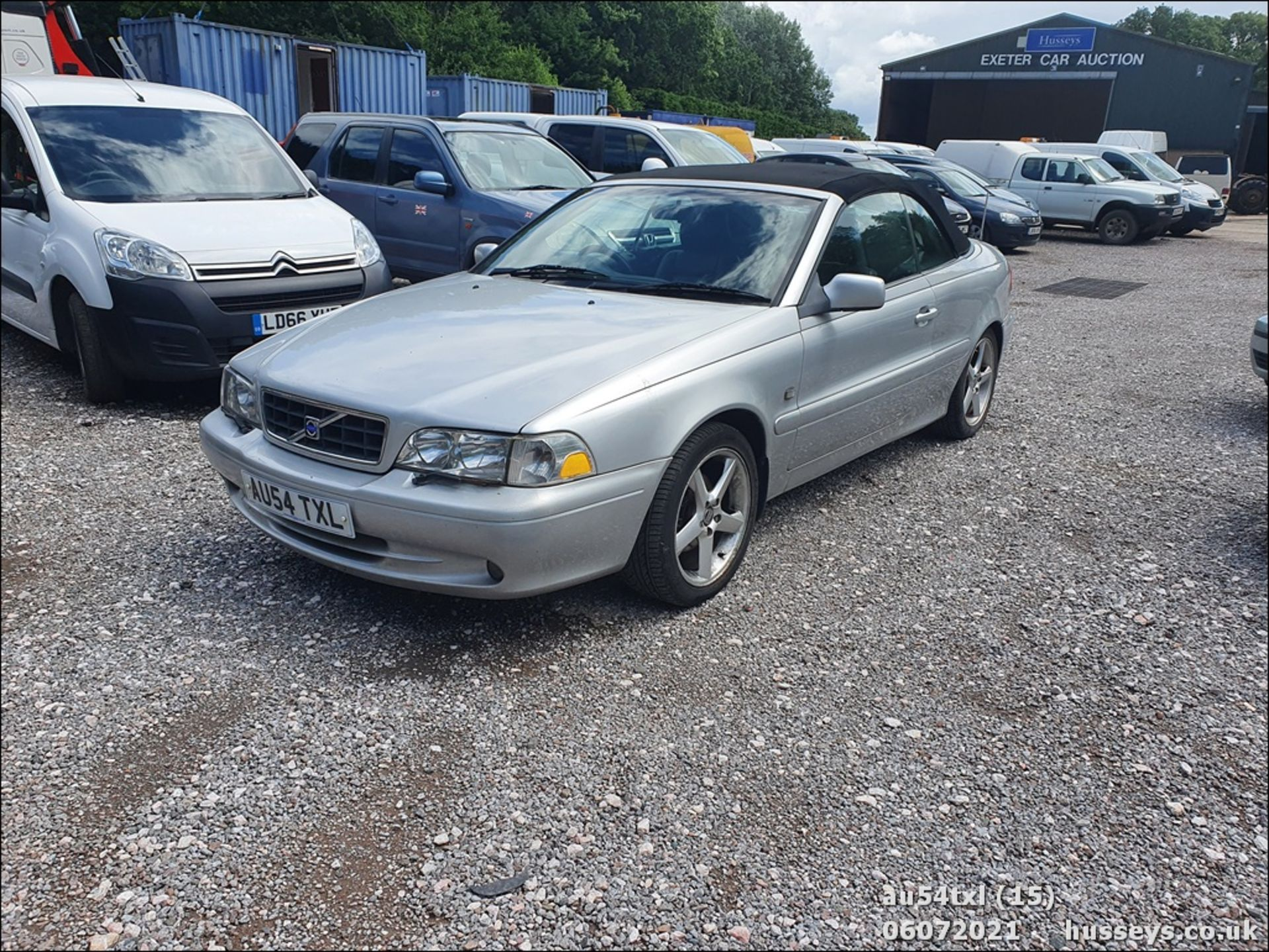 04/54 VOLVO C70 T - 1984cc 2dr Convertible (Silver, 136k) - Image 15 of 15