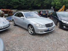 08/08 MERCEDES S320 CDI AUTO - 2987cc 4dr Saloon (Silver, 205k)