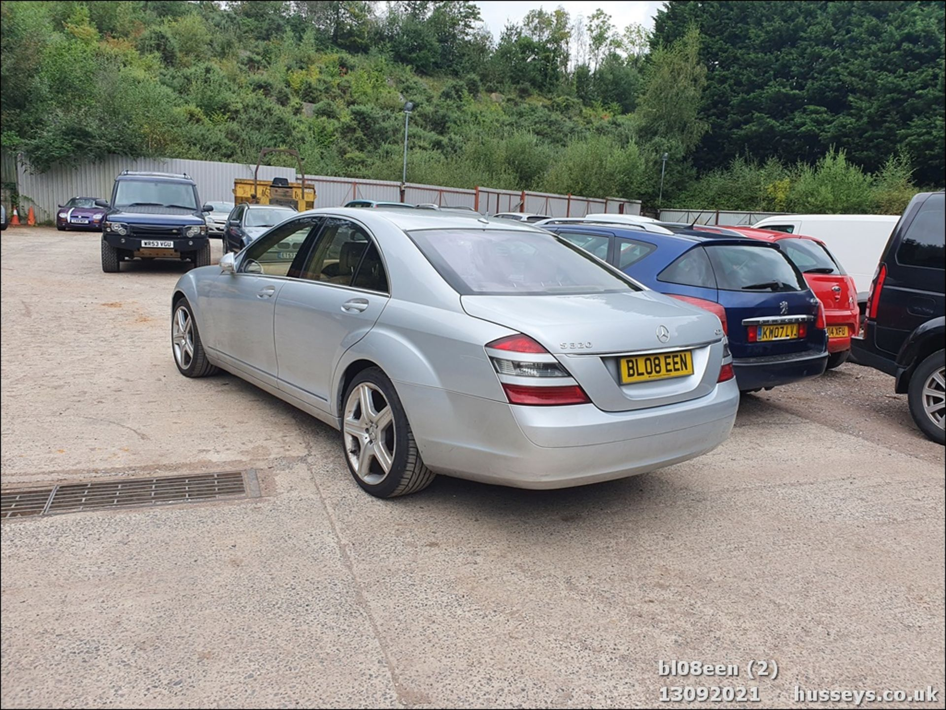 08/08 MERCEDES S320 CDI AUTO - 2987cc 4dr Saloon (Silver, 205k) - Image 2 of 16