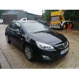 11/60 VAUXHALL ASTRA EXCLUSIV 98 - 1398cc 5dr Hatchback (Black, 124k)