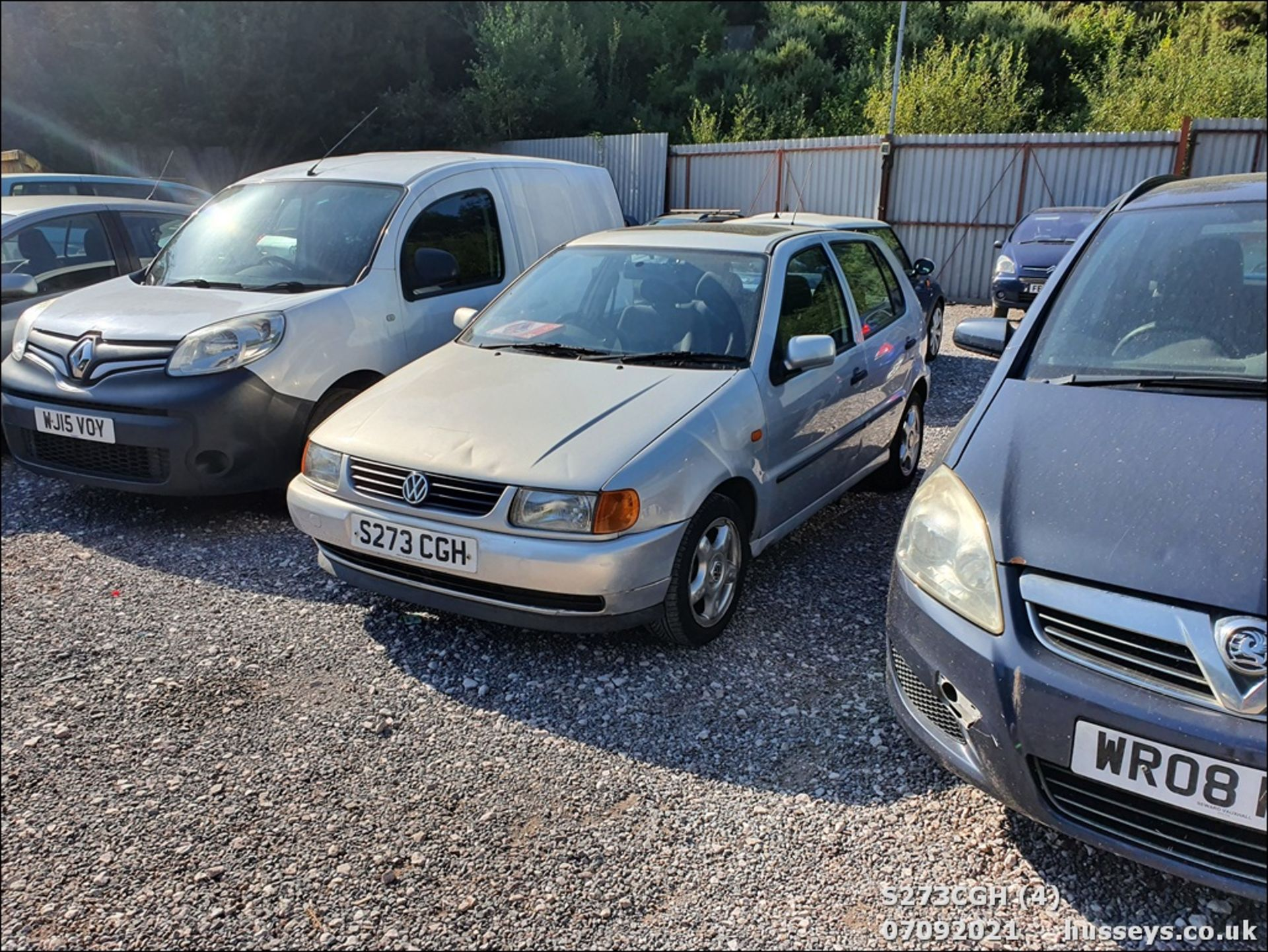 1998 VOLKSWAGEN POLO 1.6 GL AUTO - 1598cc 5dr Hatchback (Silver, 113k) - Image 4 of 13
