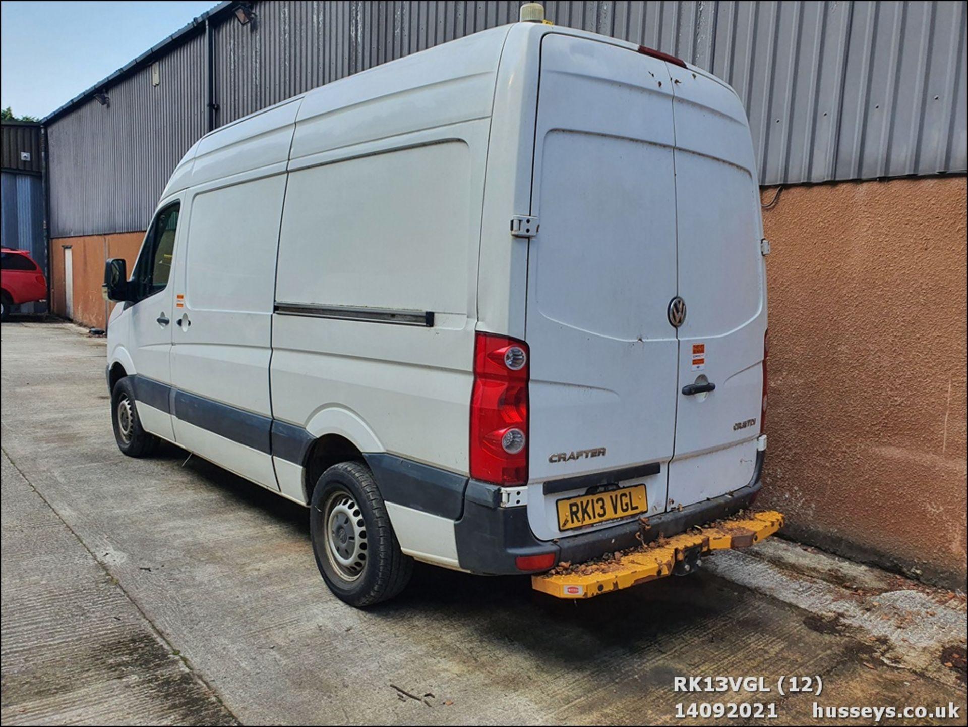 13/13 VOLKSWAGEN CRAFTER CR35 TDI 143 MWB - 1968cc 5dr Van (White, 75k) - Image 12 of 13