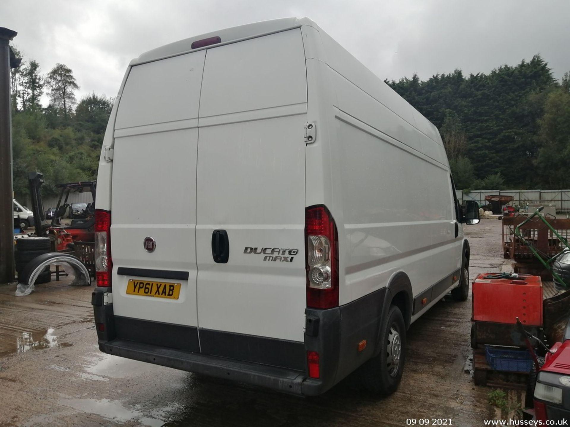11/61 FIAT DUCATO 35 MAXI160 M-J LWB - 2999cc 5dr Van (White, 108k) - Image 5 of 12