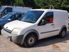 03/53 FORD TRANSIT CONNECT T200 TDDI - 1753cc Van (White, 216k)