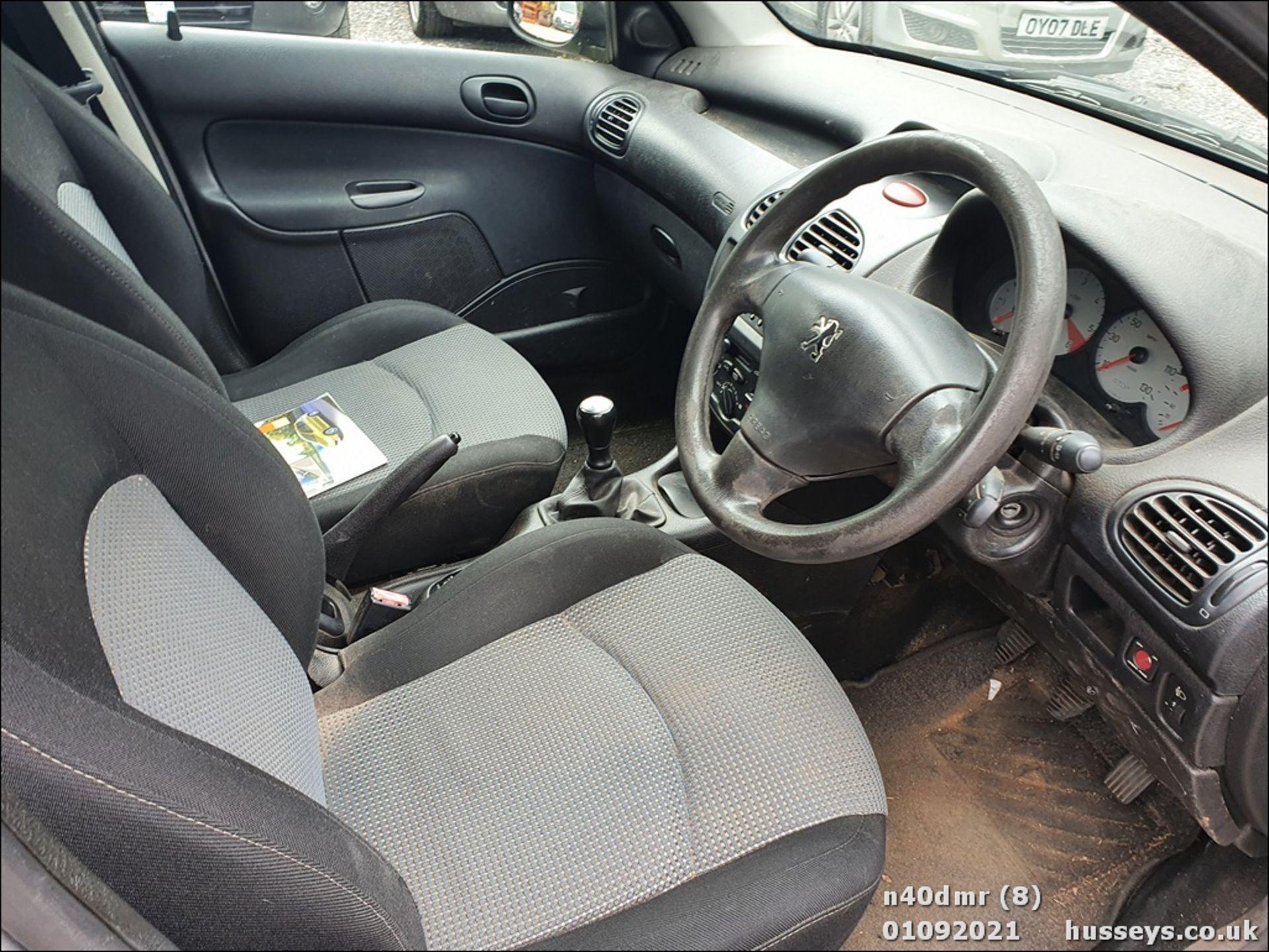 2004 PEUGEOT 206 SW S TD - 1398cc 5dr Estate (Grey, 140k) - Image 16 of 23
