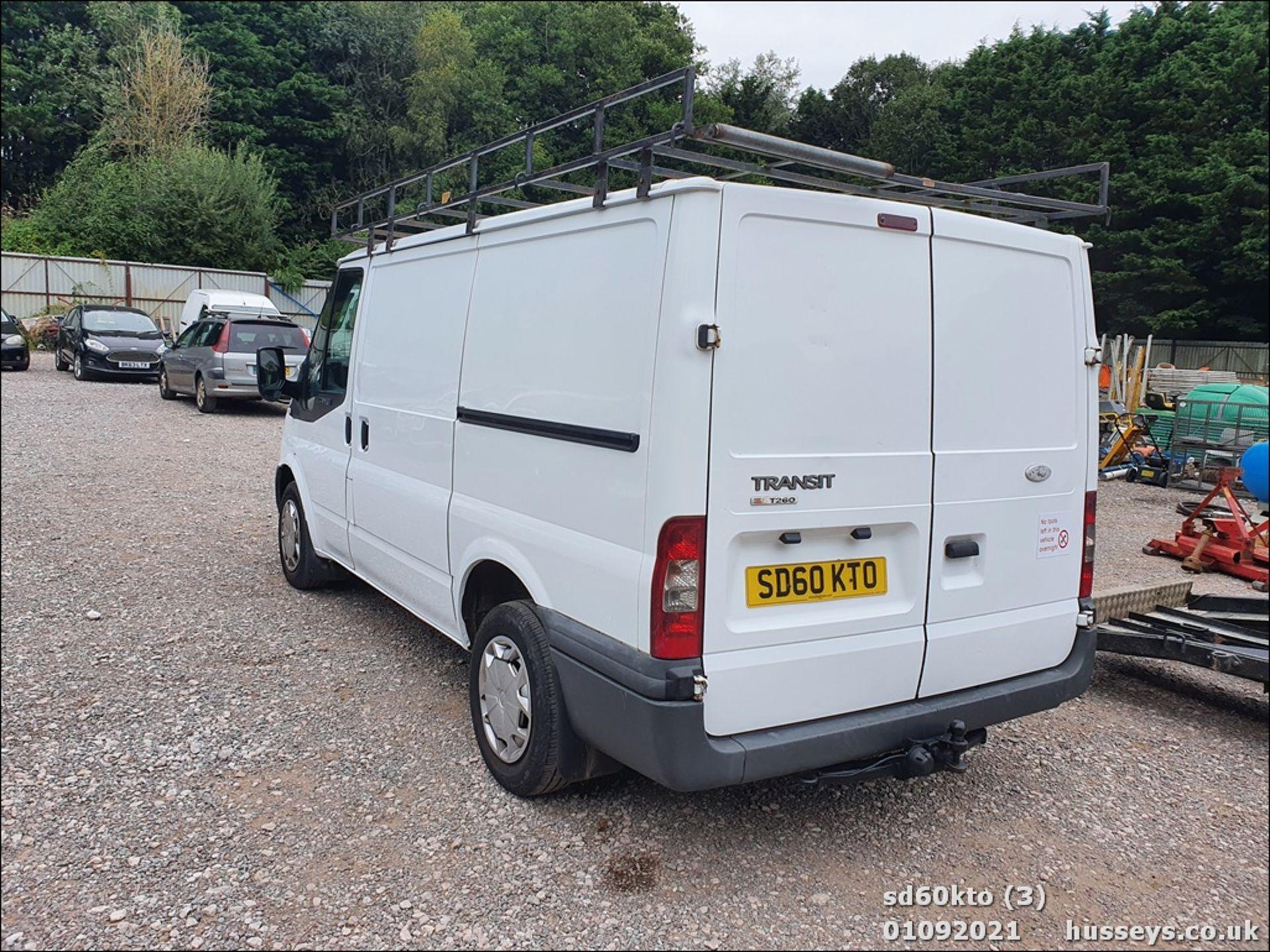 10/60 FORD TRANSIT 85 T260M FWD - 2198cc 5dr Van (White, 237k) - Image 8 of 23