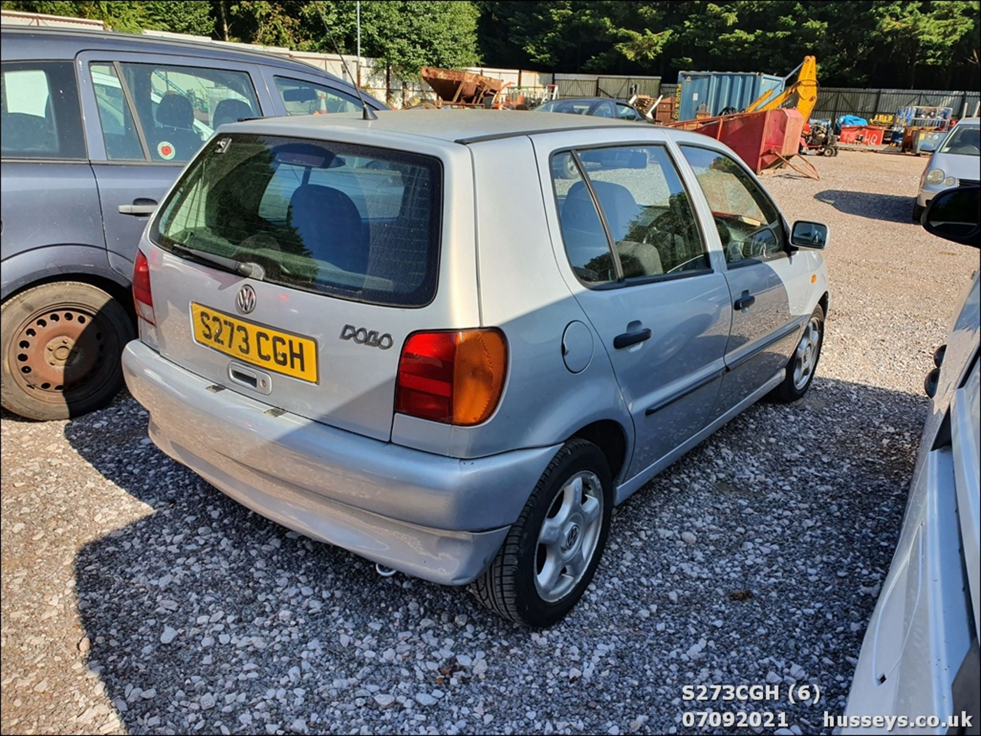 1998 VOLKSWAGEN POLO 1.6 GL AUTO - 1598cc 5dr Hatchback (Silver, 113k) - Image 6 of 13