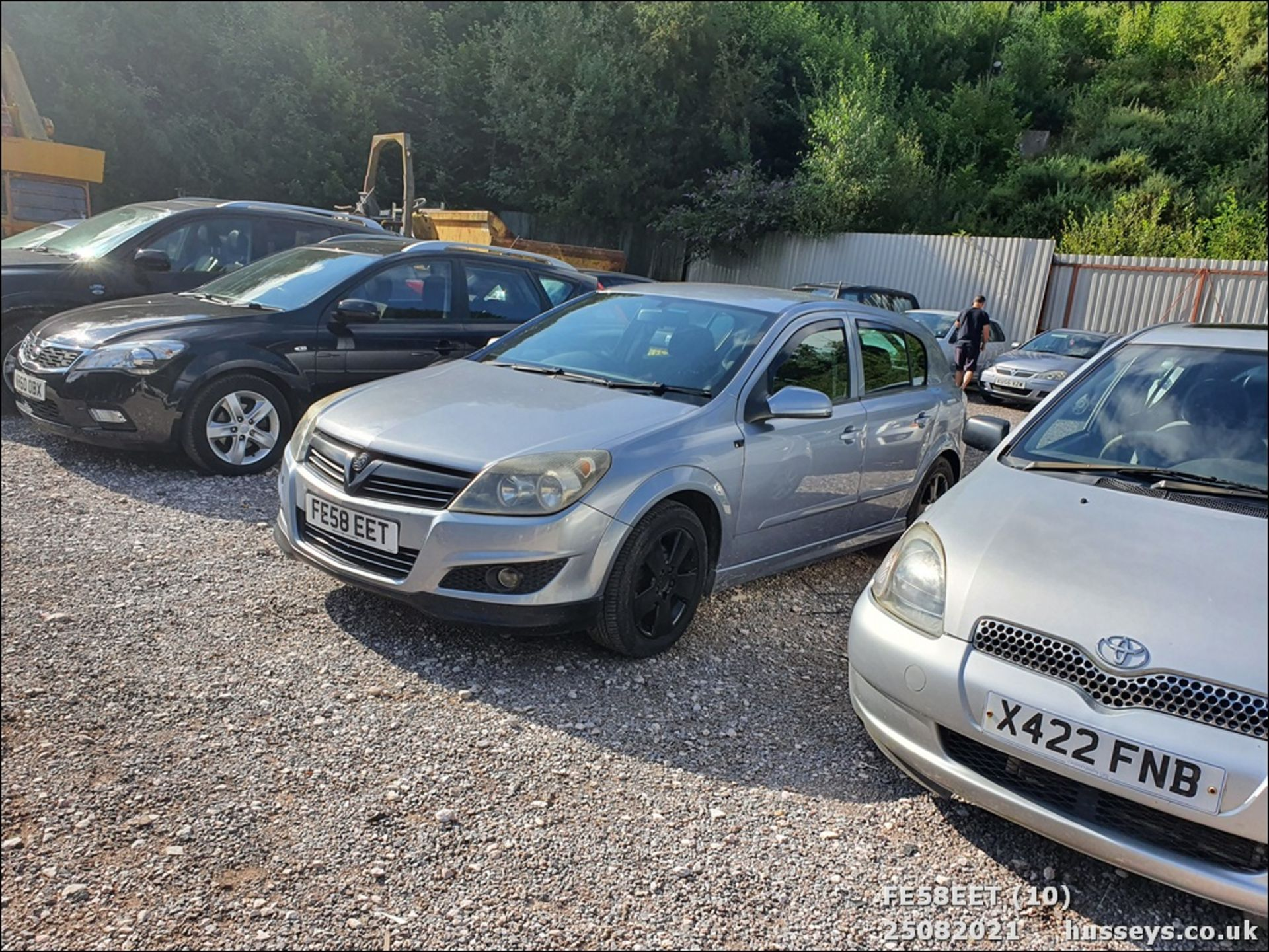 08/58 VAUXHALL ASTRA CLUB CDTI 100 - 1686cc 5dr Hatchback (Silver, 115k) - Image 10 of 15