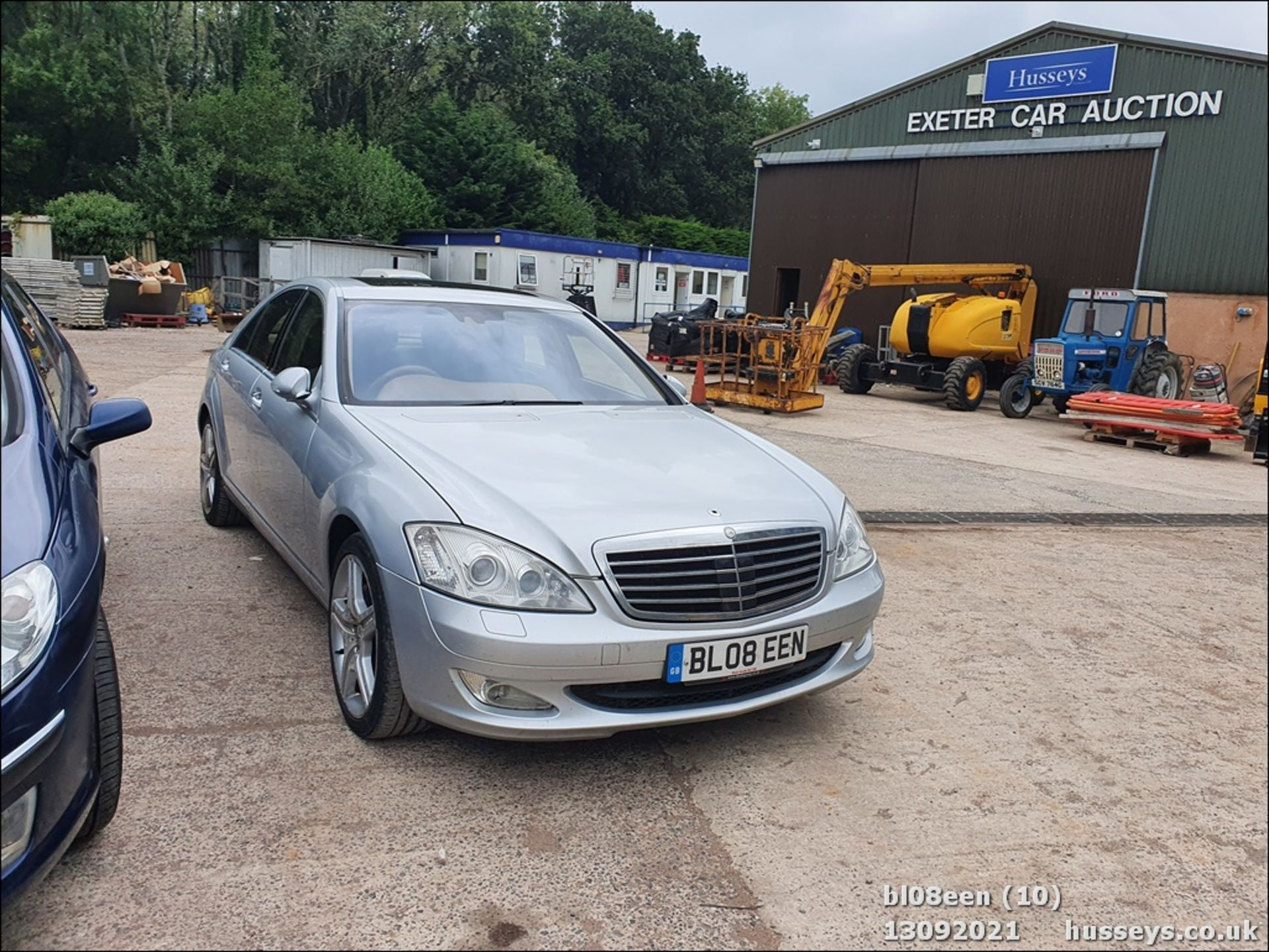 08/08 MERCEDES S320 CDI AUTO - 2987cc 4dr Saloon (Silver, 205k) - Image 10 of 16