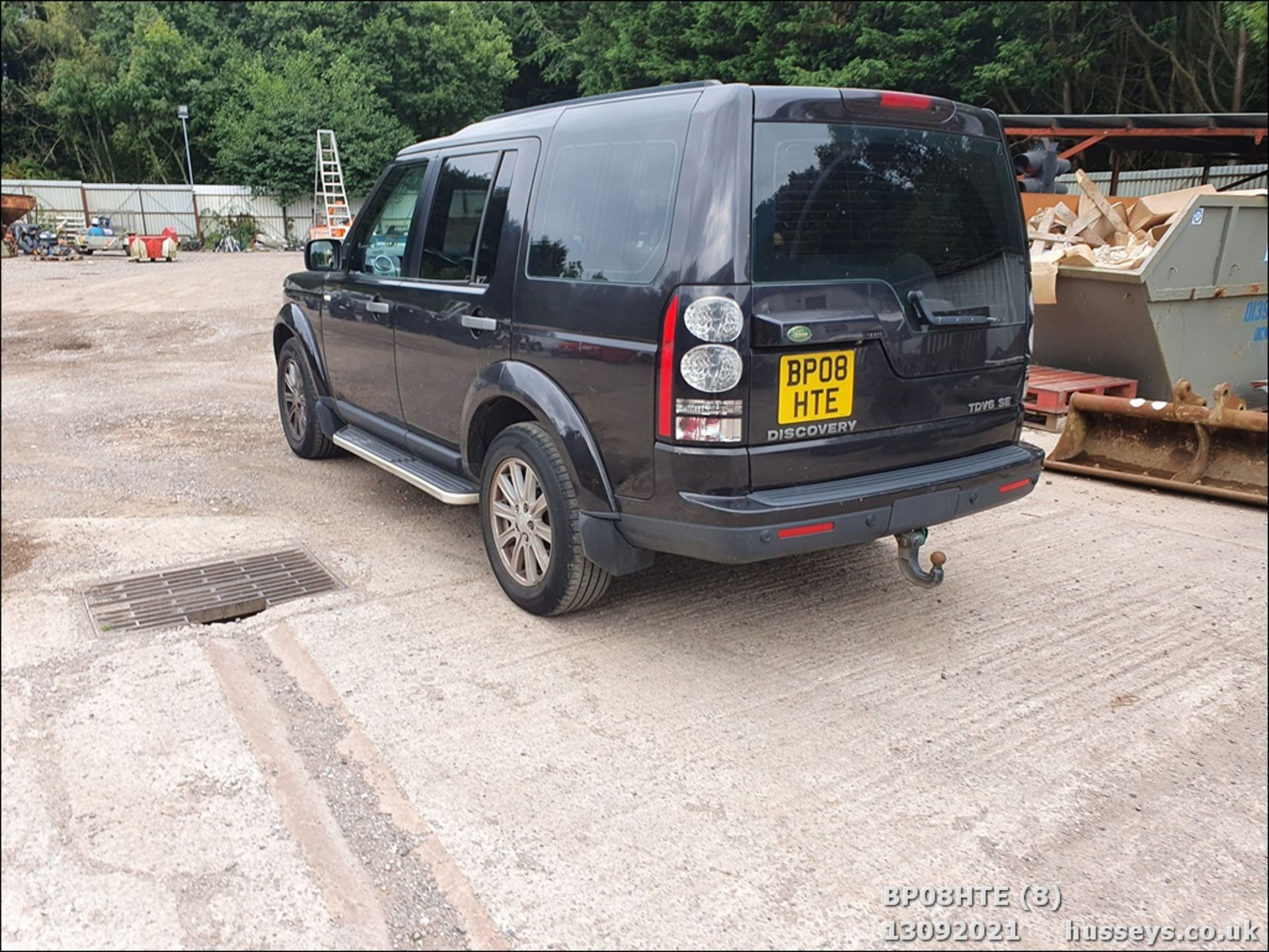 08/08 LAND ROVER DISCOVERY TDV6 SE A - 2720cc 5dr Estate (Brown, 190k) - Image 8 of 18