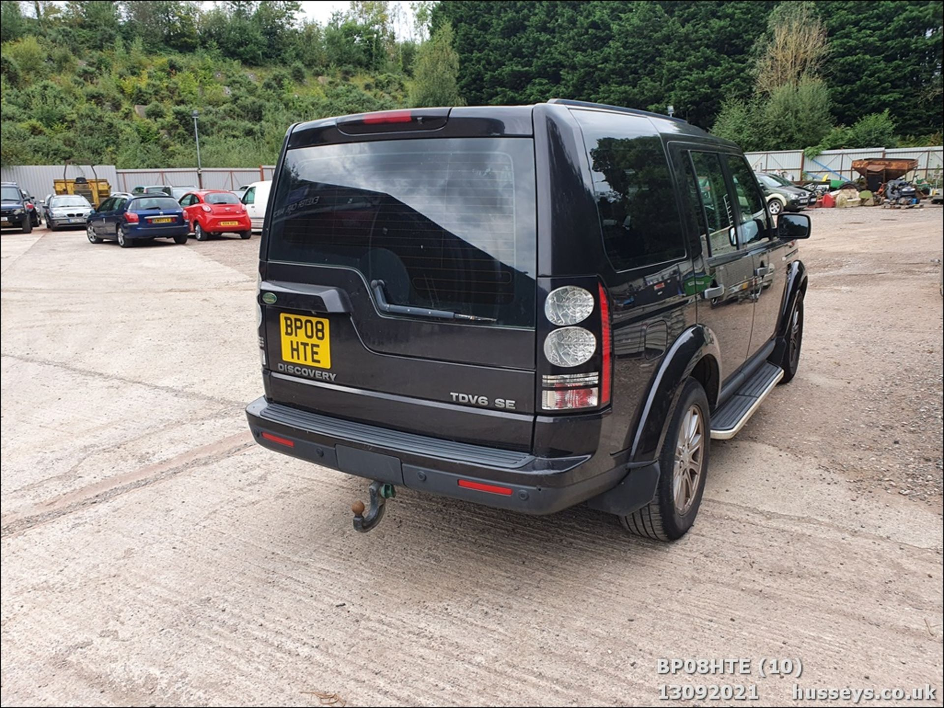 08/08 LAND ROVER DISCOVERY TDV6 SE A - 2720cc 5dr Estate (Brown, 190k) - Image 10 of 18