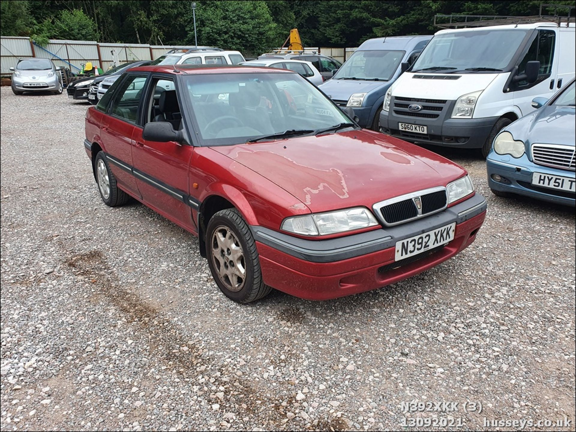 1995 ROVER 214 SEI - 1396cc 5dr Hatchback (Red, 99k) - Image 3 of 15