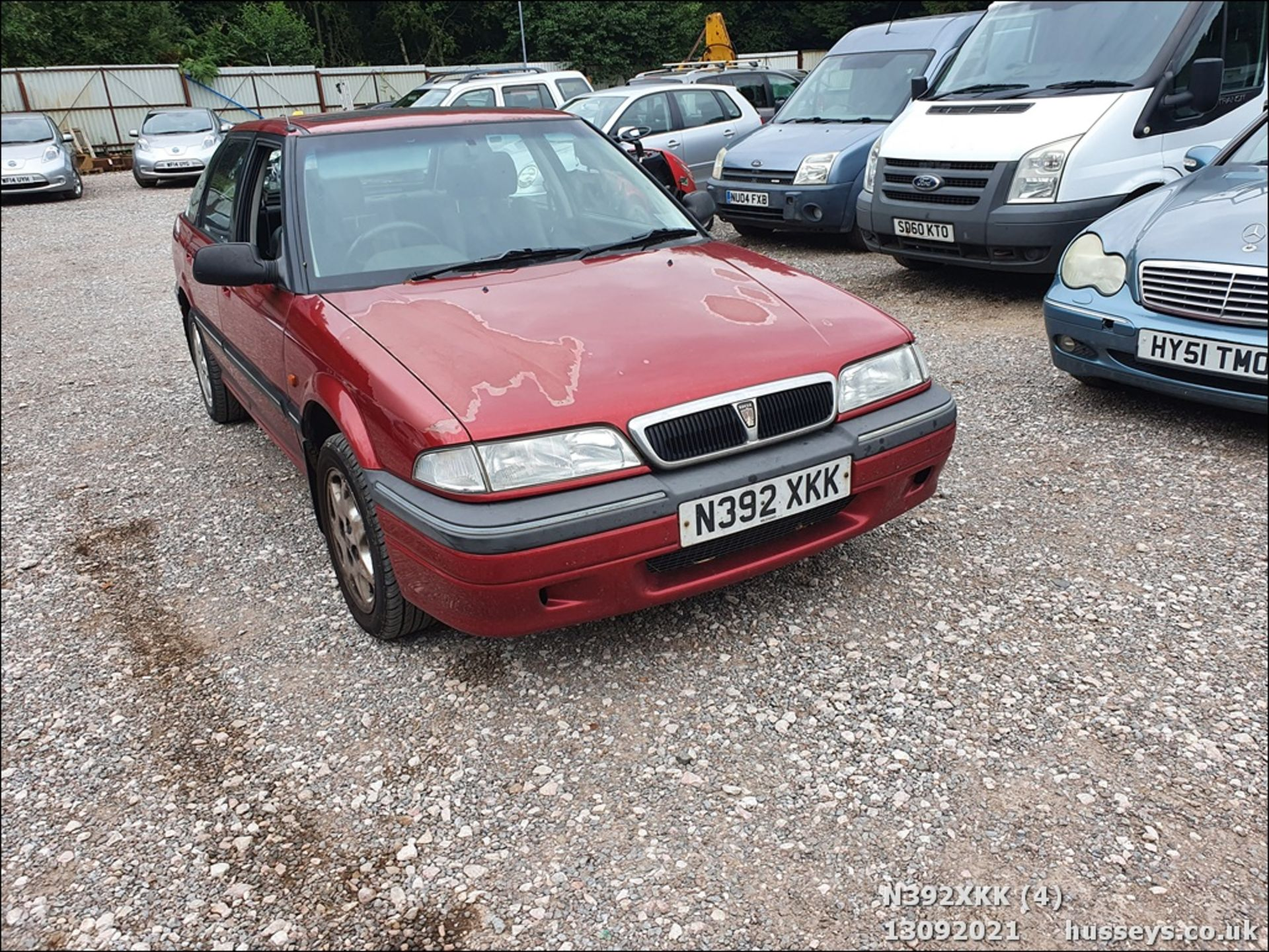 1995 ROVER 214 SEI - 1396cc 5dr Hatchback (Red, 99k) - Image 4 of 15