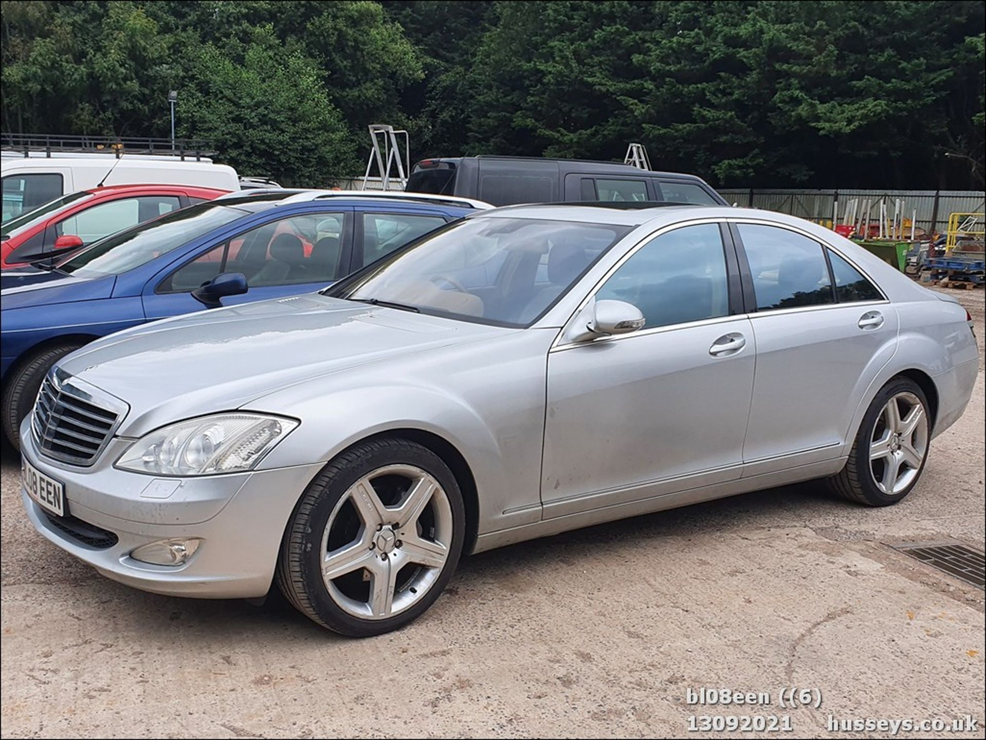 08/08 MERCEDES S320 CDI AUTO - 2987cc 4dr Saloon (Silver, 205k) - Image 6 of 16